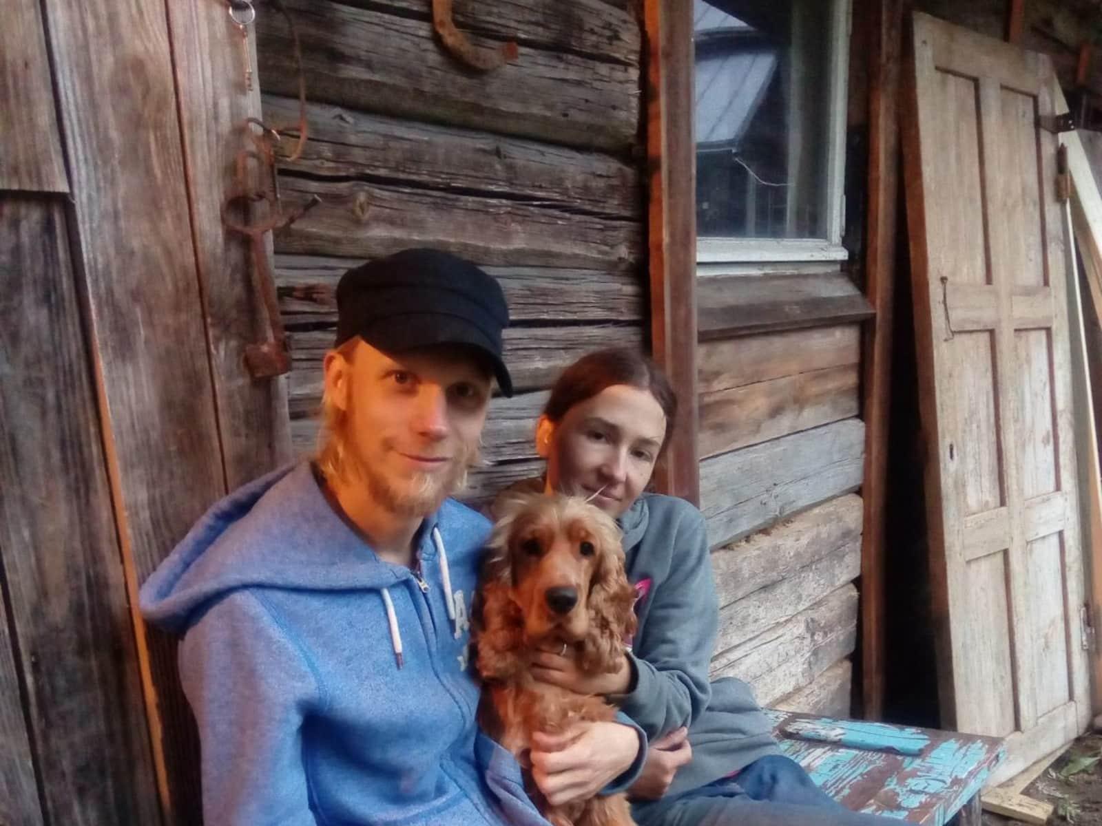 Anna-kaisa & Kalle from Savonlinna, Finland