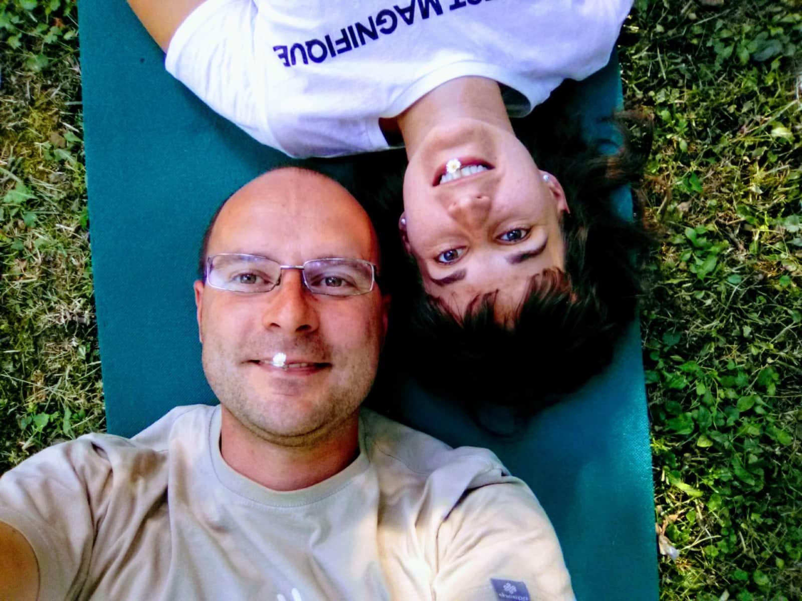 György & Agnes from Budapest, Hungary