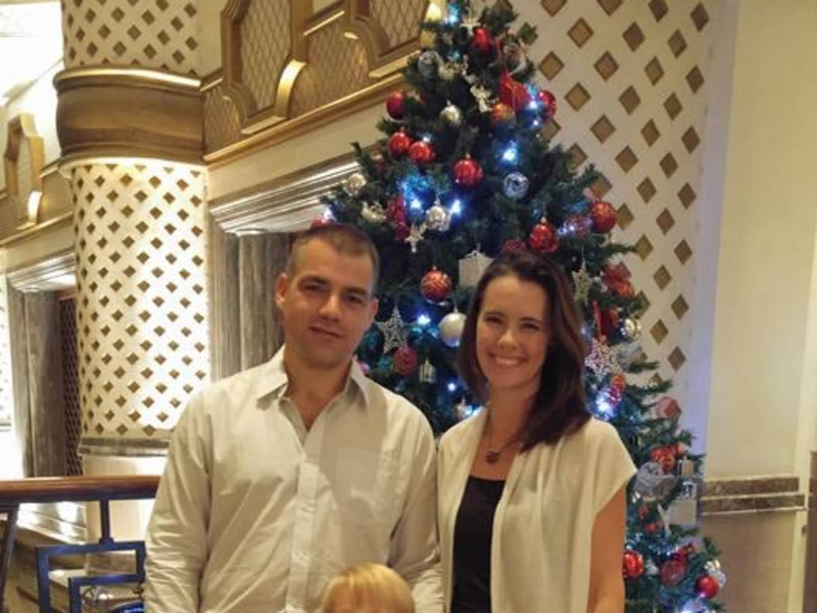 Eben & Helga from Muscat, Oman