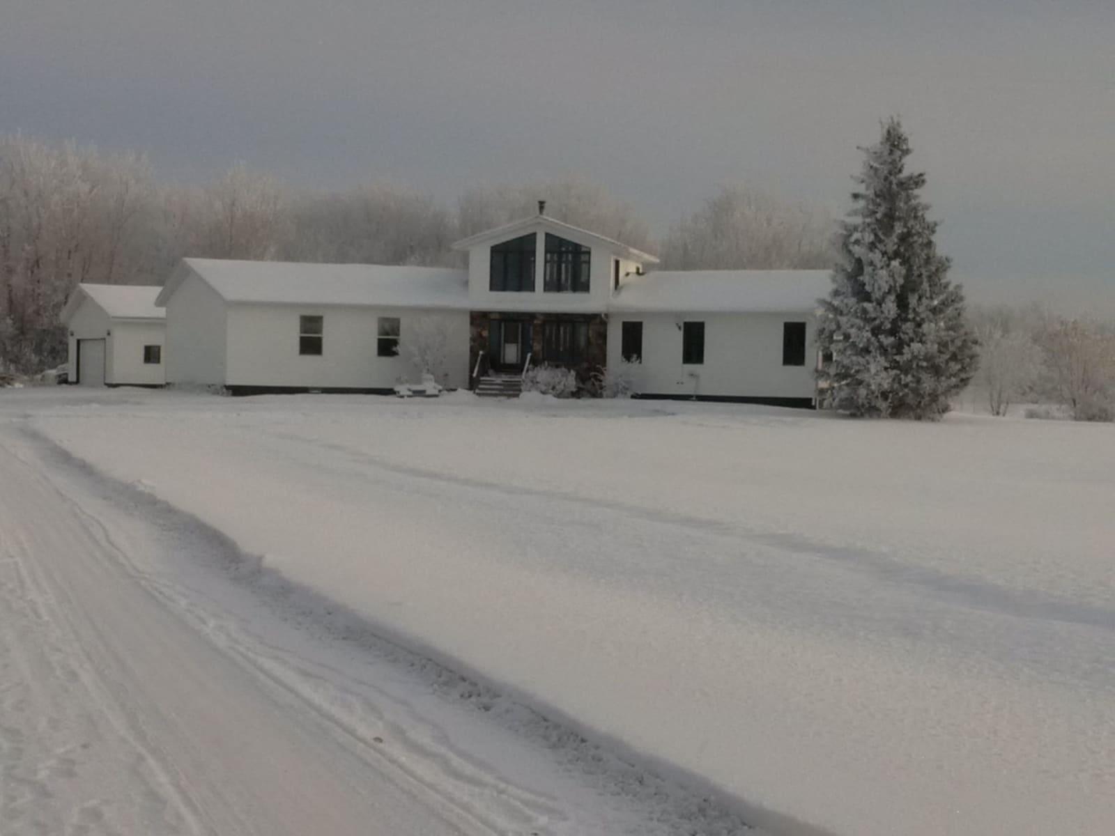 Housesitting assignment in High Level, Alberta, Canada