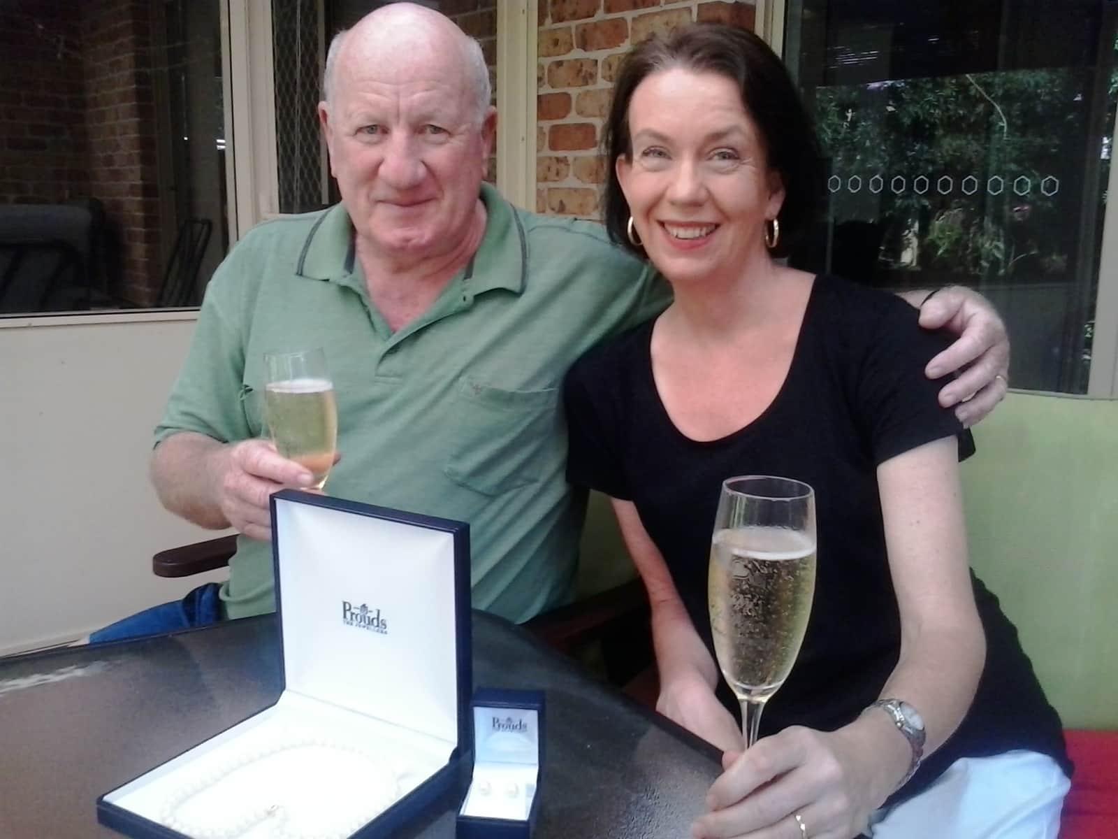 Karen & John from Pelican Waters, Queensland, Australia