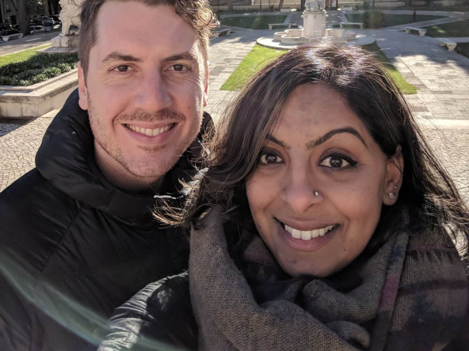 Rima & Jeffrey from Freehold, New Jersey, United States