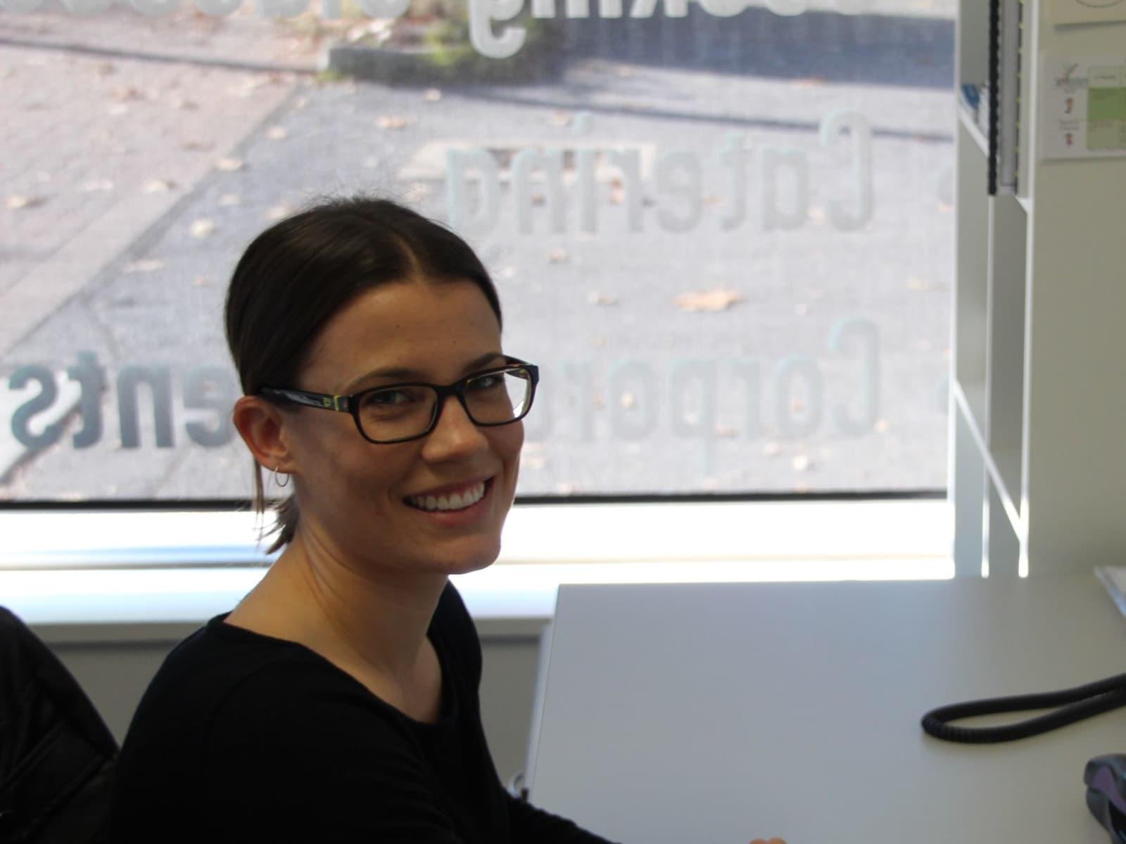 Jenna from Perth, Western Australia, Australia