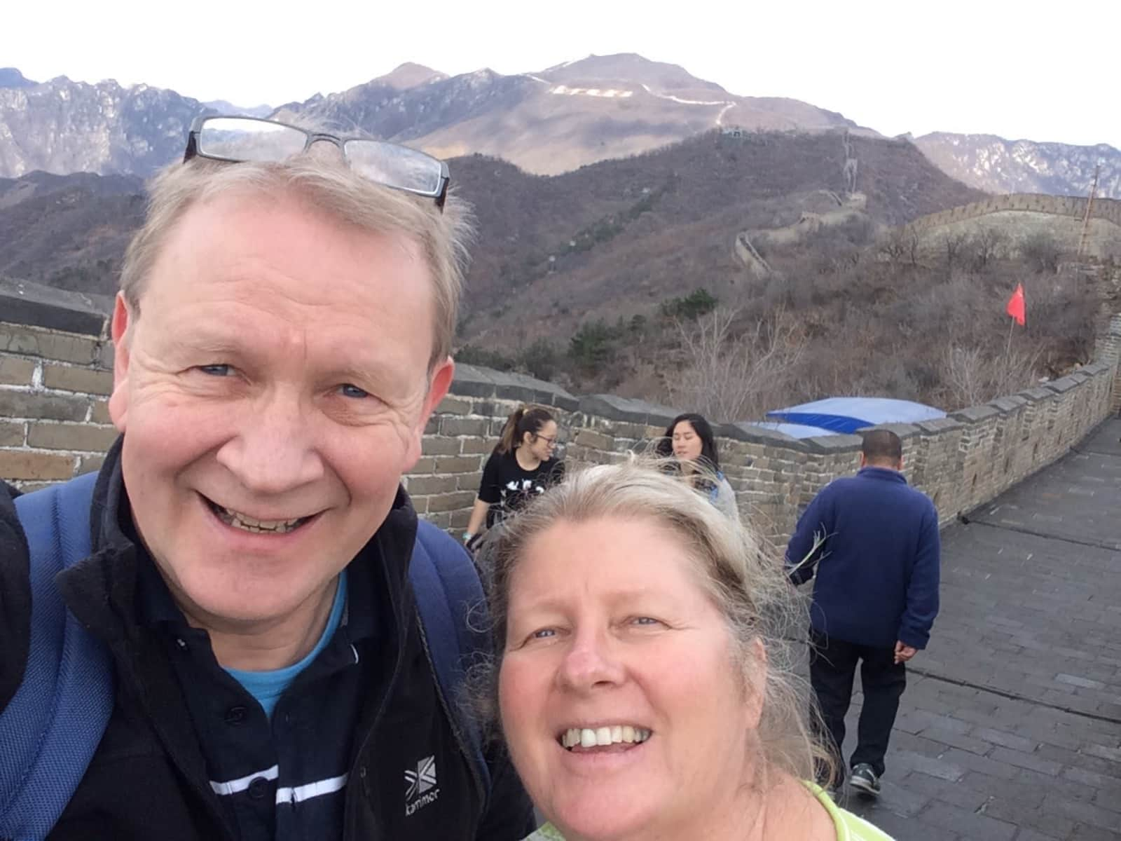 Malcolm & Catherine from Dursley, United Kingdom