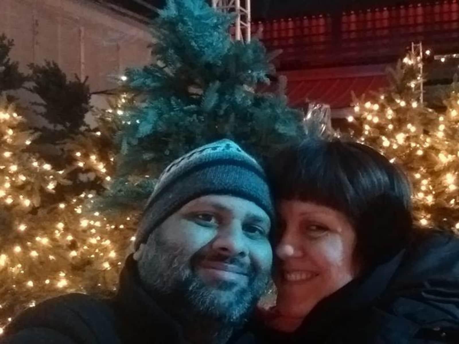Johanne & Sandip from Montréal, Quebec, Canada