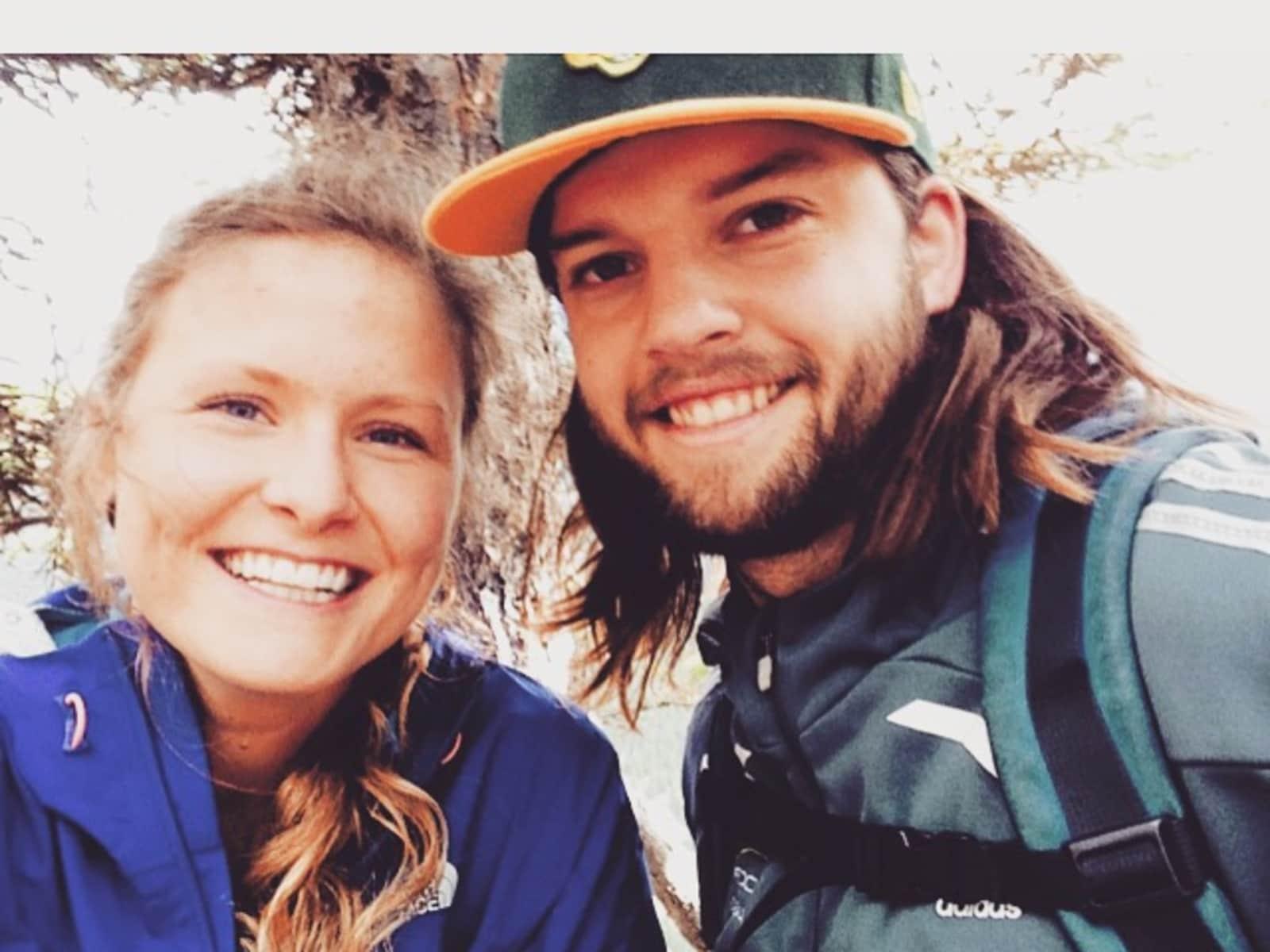 Judy & Trent from Edmonton, Alberta, Canada