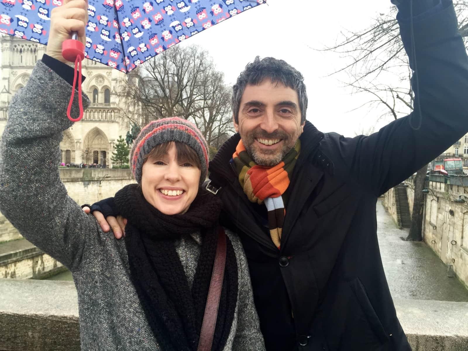 Marco & Liz from London, United Kingdom