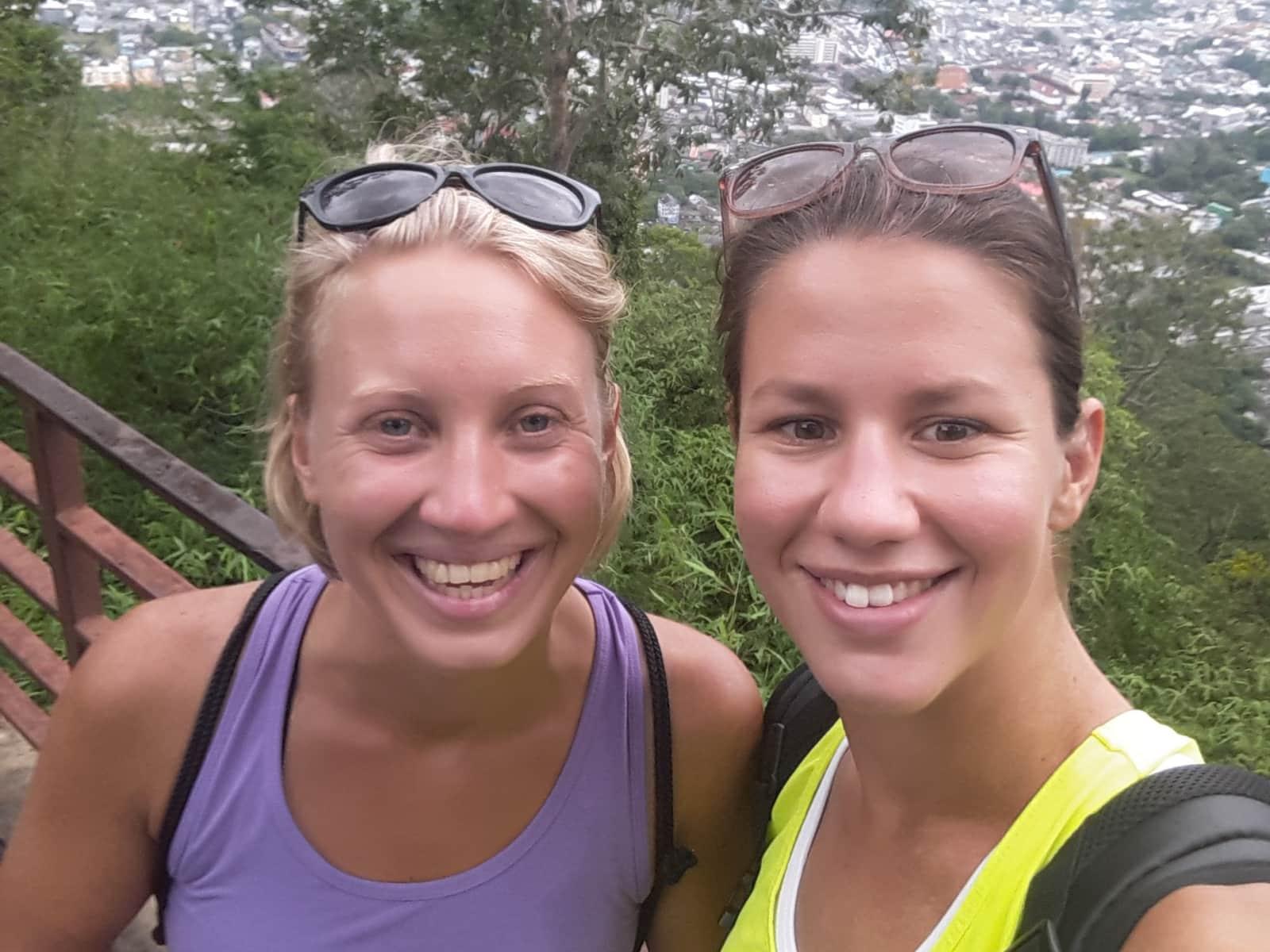 Reka dora & Dora from Budapest, Hungary