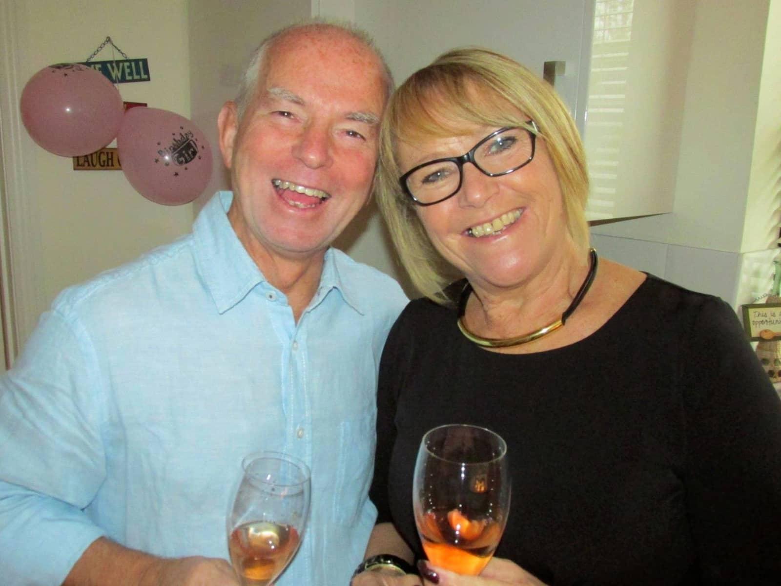 Keith & Denise from Málaga, Spain