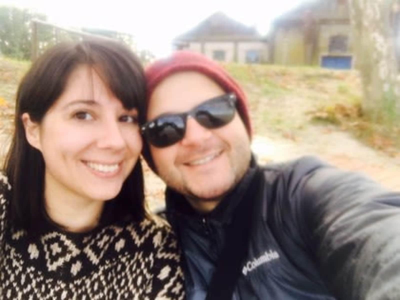 Gabriela & John from Colonia del Sacramento, Uruguay