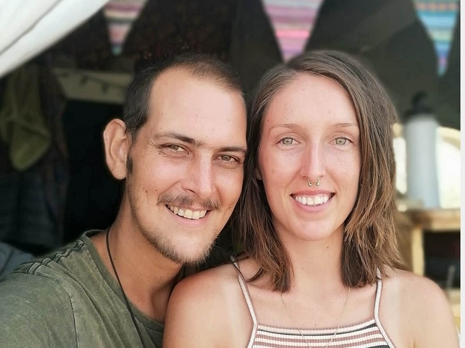 Alison & Tim from Melbourne, Victoria, Australia