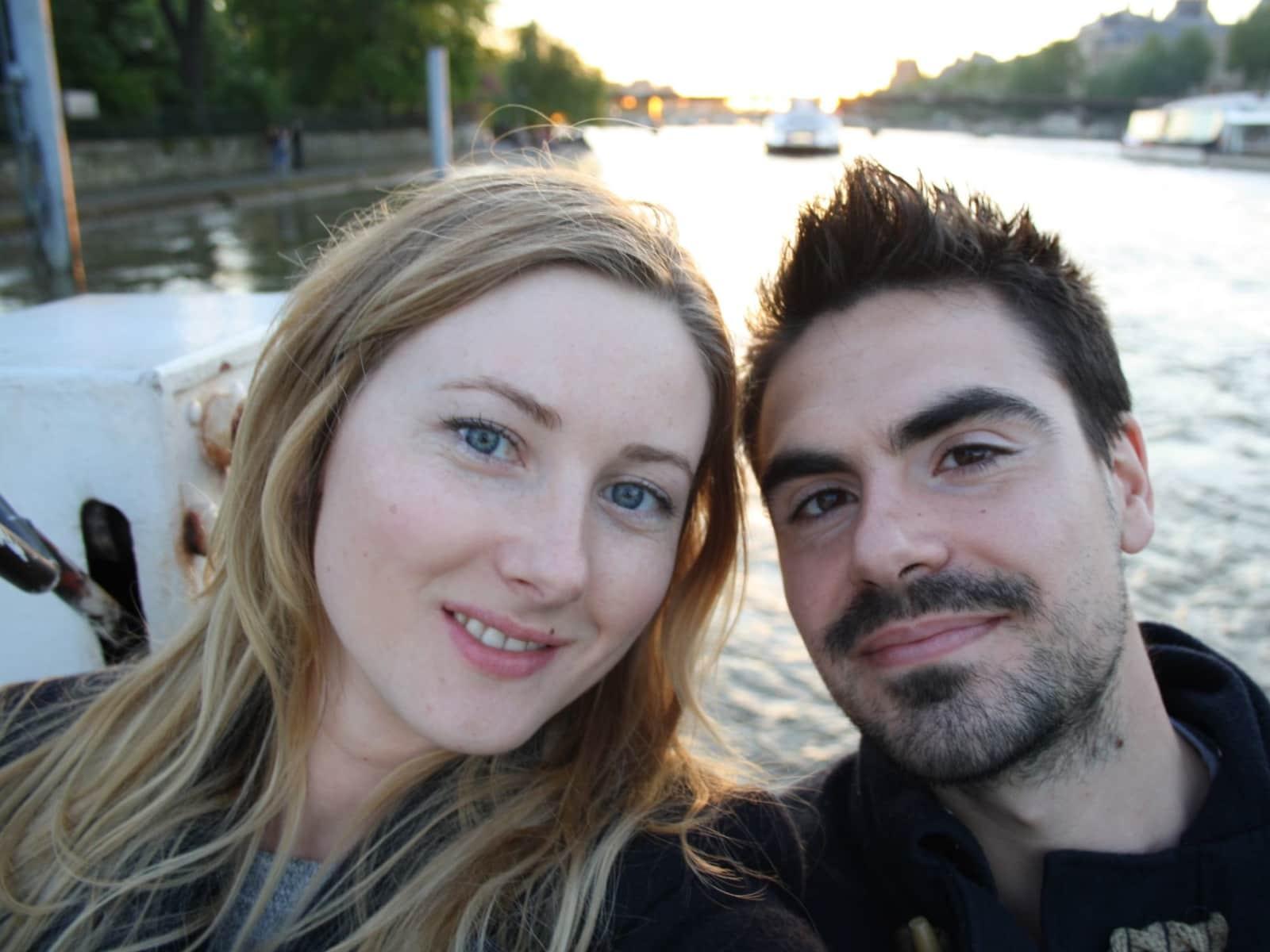 Iga & Rafa from London, United Kingdom