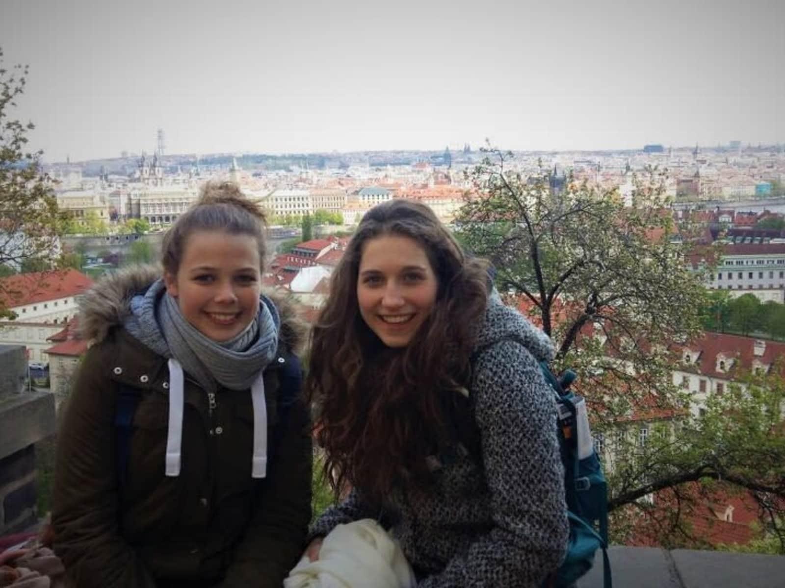 Nina & Paulina from Bamberg, Germany