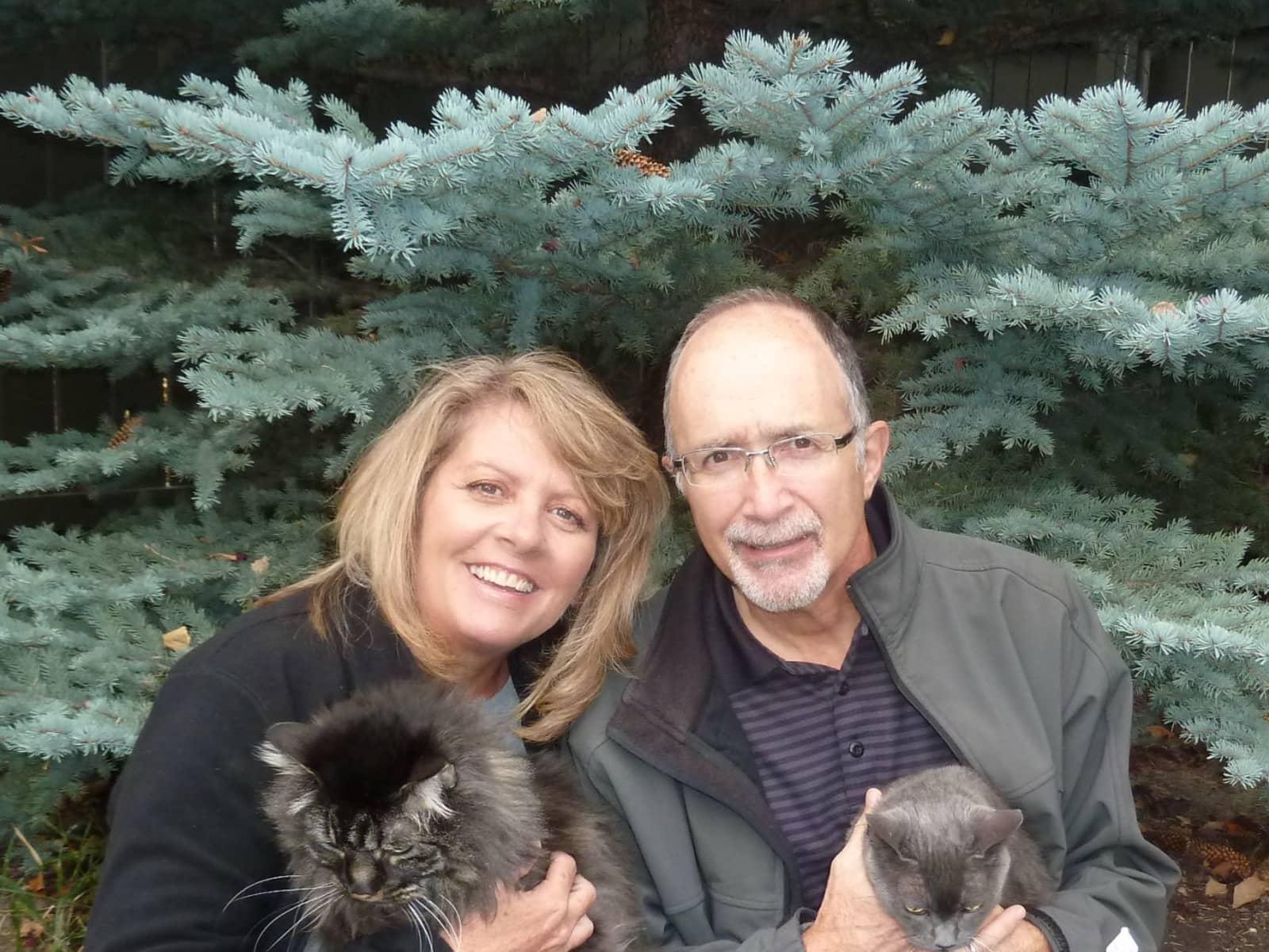 Sherry & Ron from Calgary, Alberta, Canada