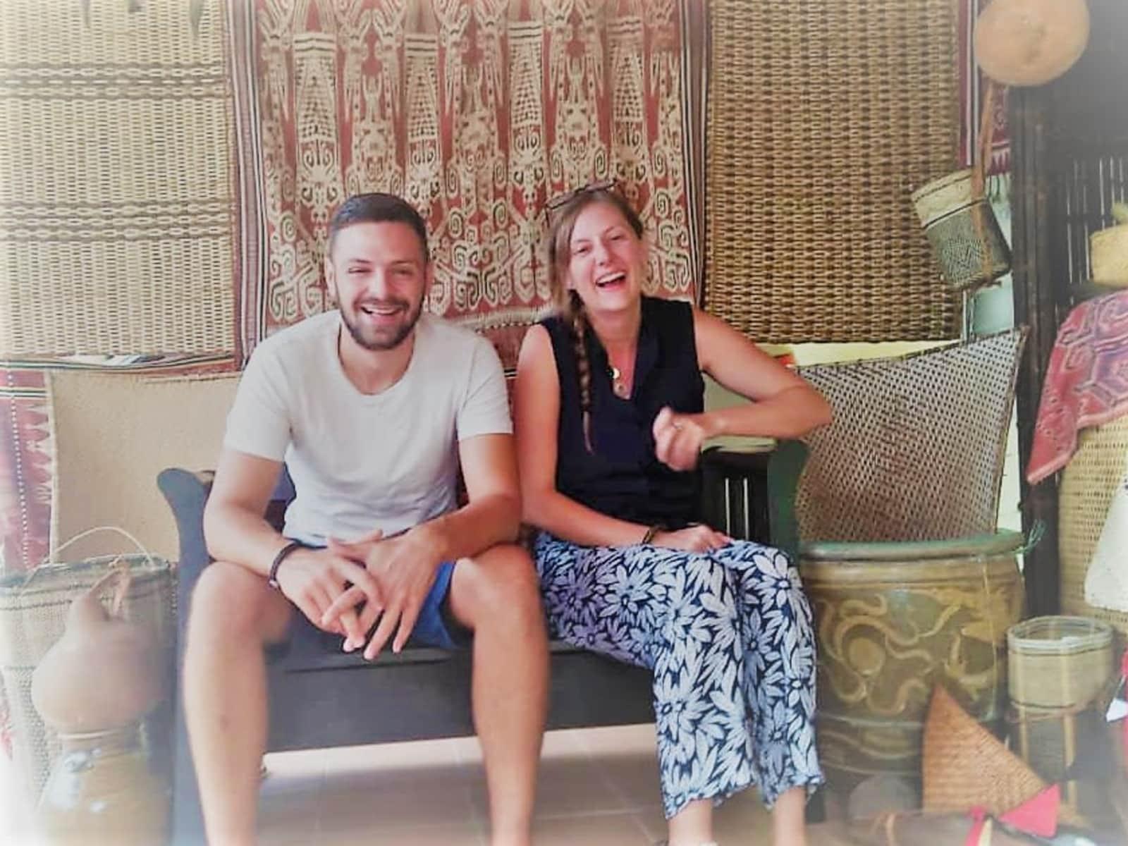 Nicky & Luke from Gloucester, United Kingdom