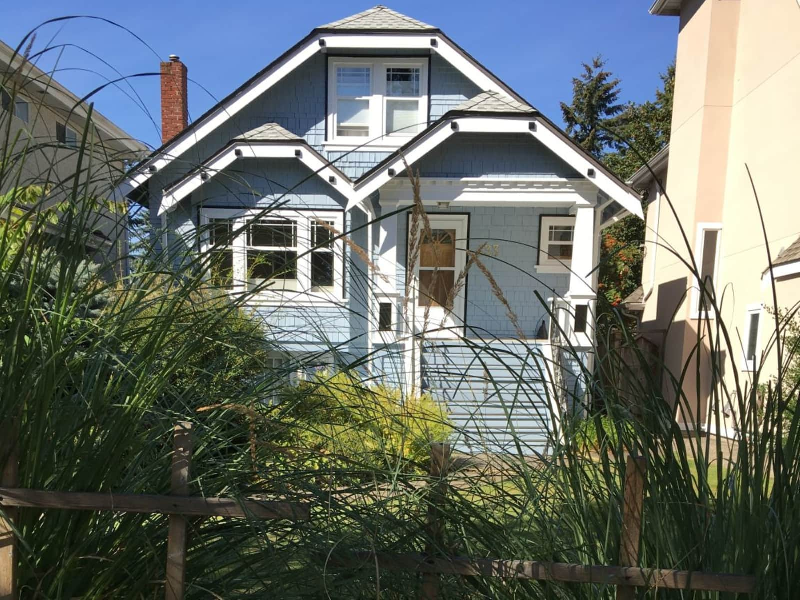 Housesitting assignment in Vancouver, British Columbia, Canada
