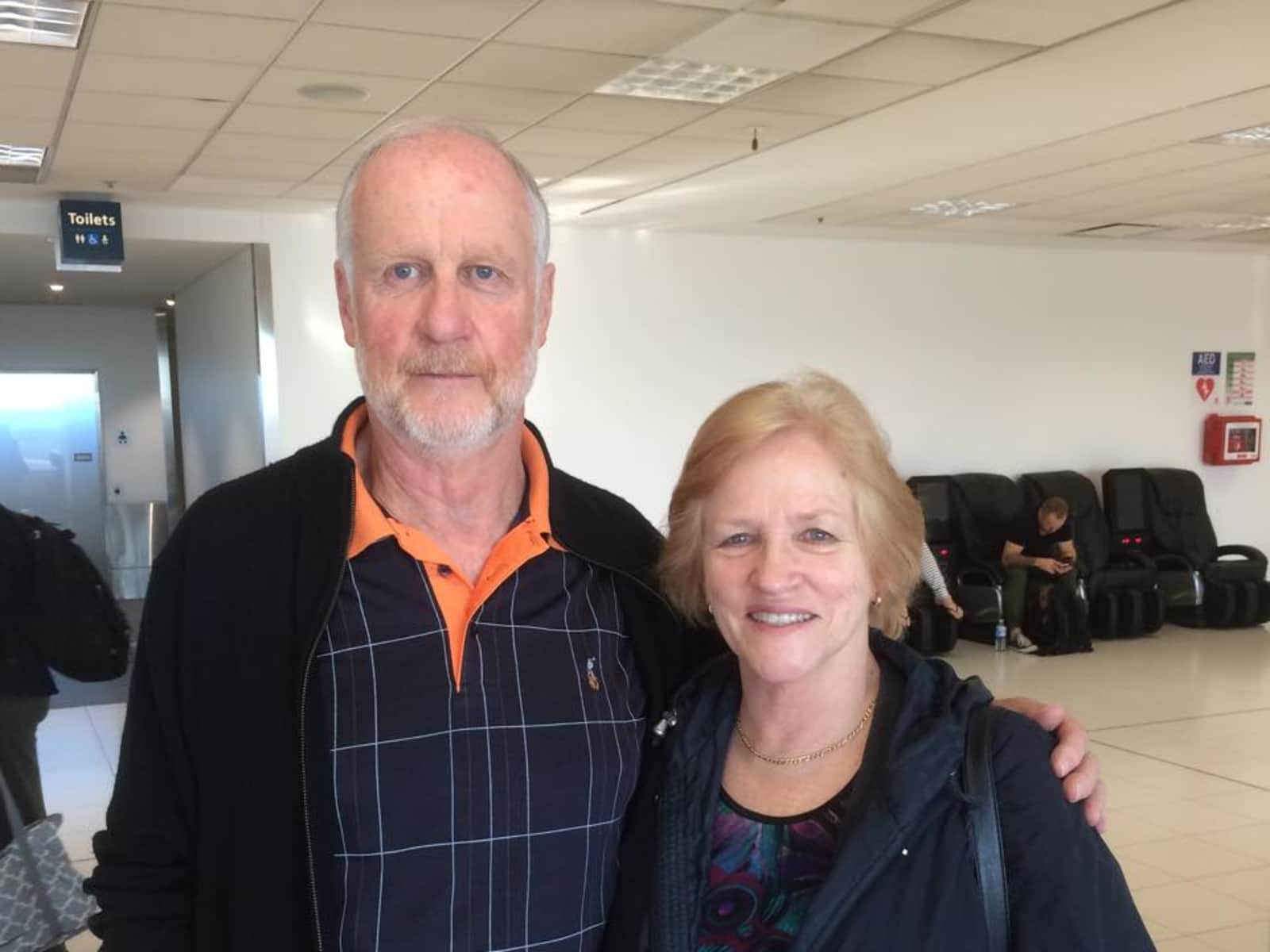 Pam & Royce from Auckland, New Zealand