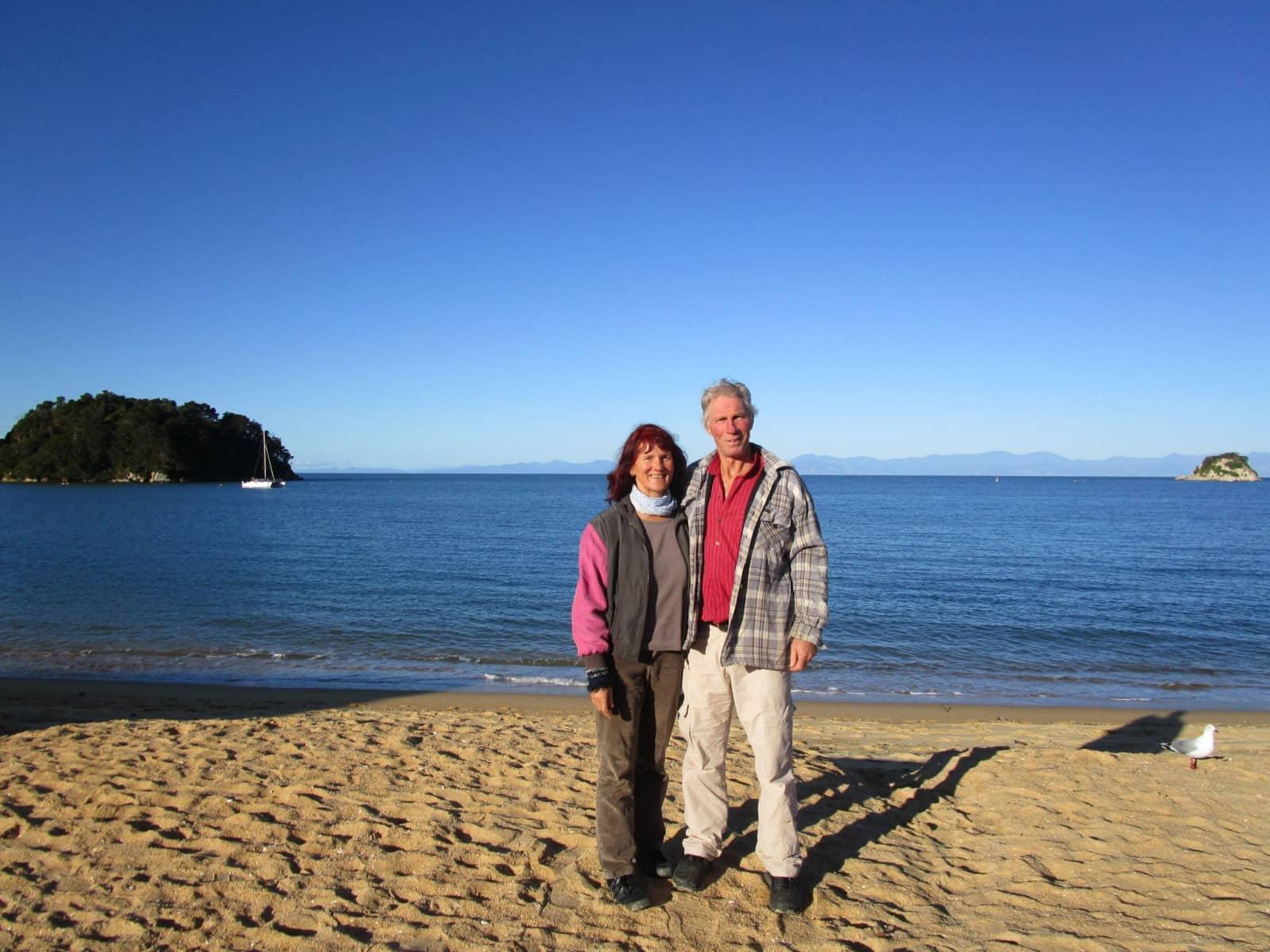 Barbara & Horst from Bern, Switzerland