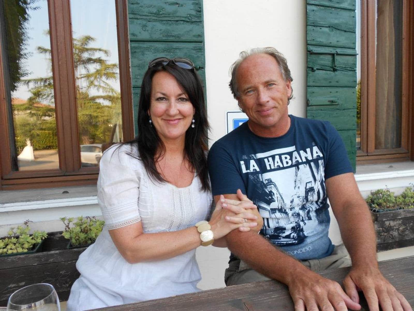 Tracy & David from San Ginesio, Italy