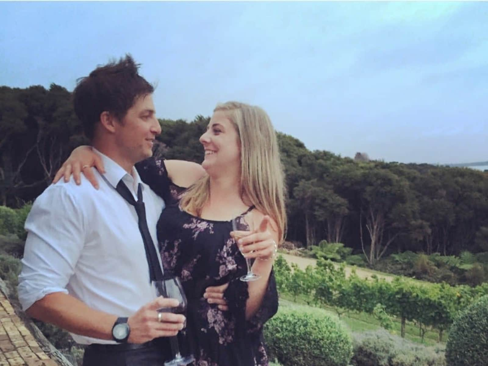 Ryan & Samantha from Auckland, New Zealand