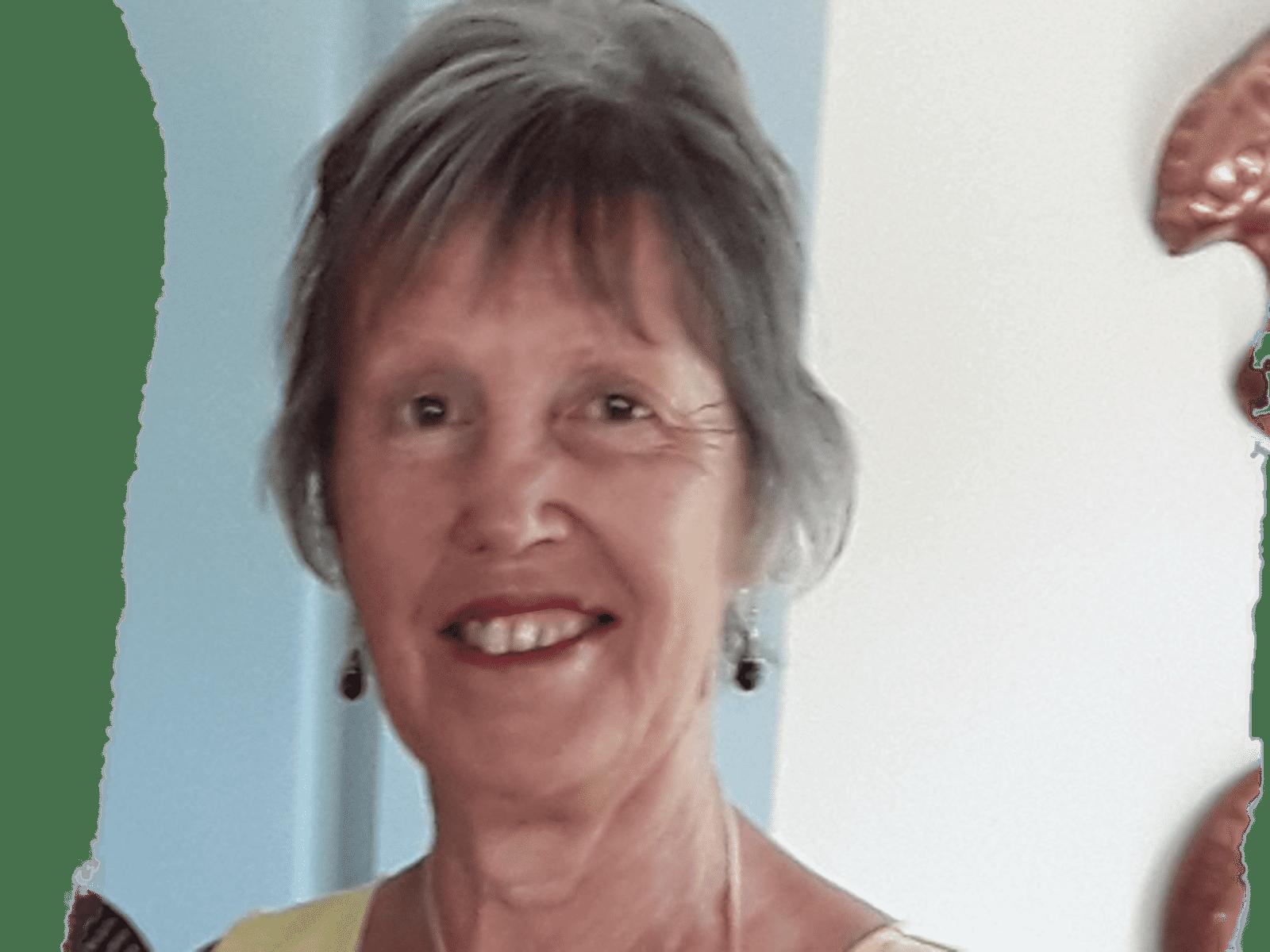 Judy from Hawera, New Zealand