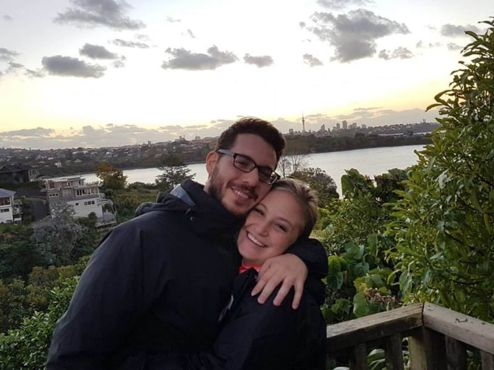 Gisel & Pablo from Auckland, New Zealand