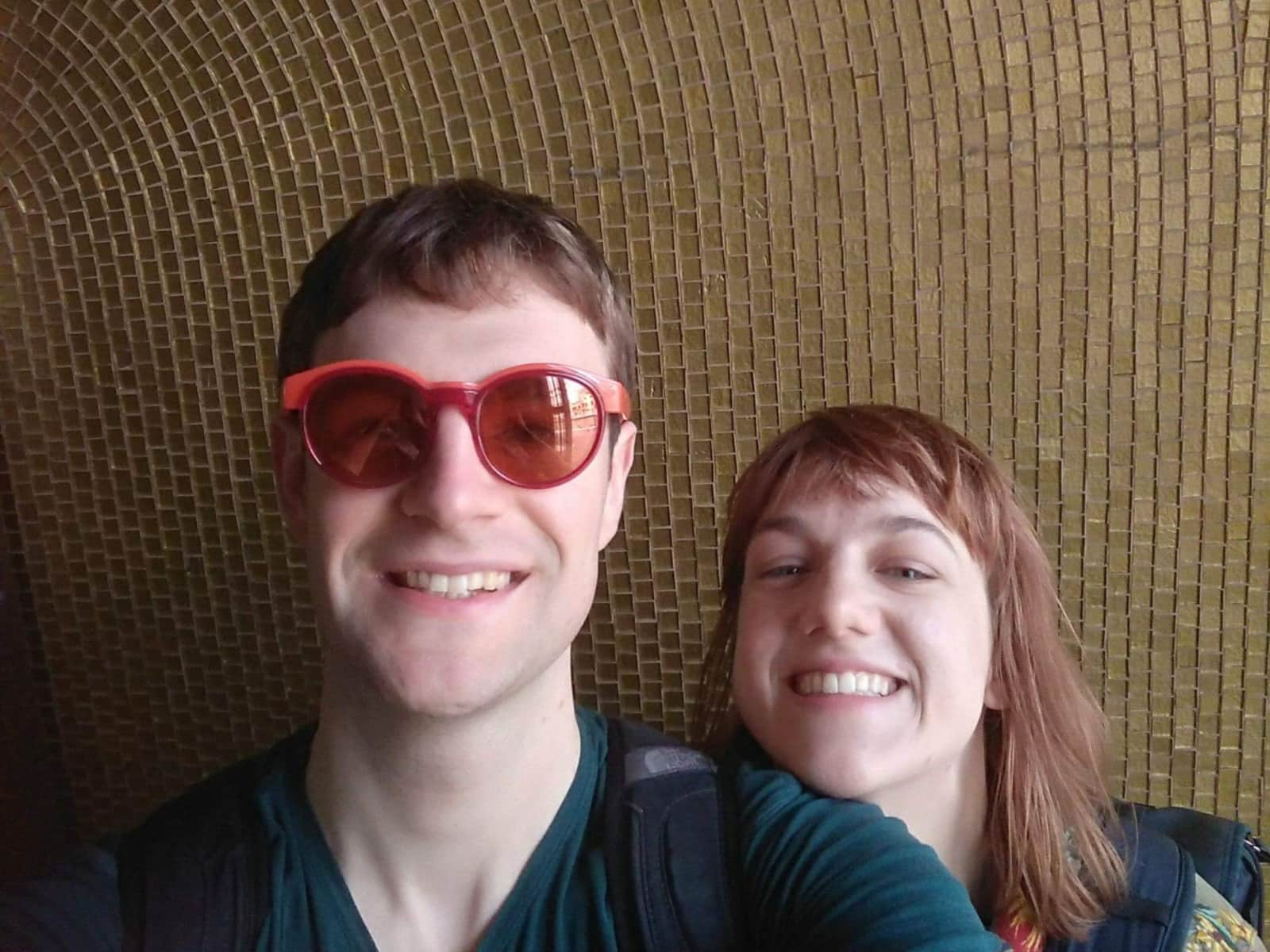 Anna & Ian from Wellington, New Zealand