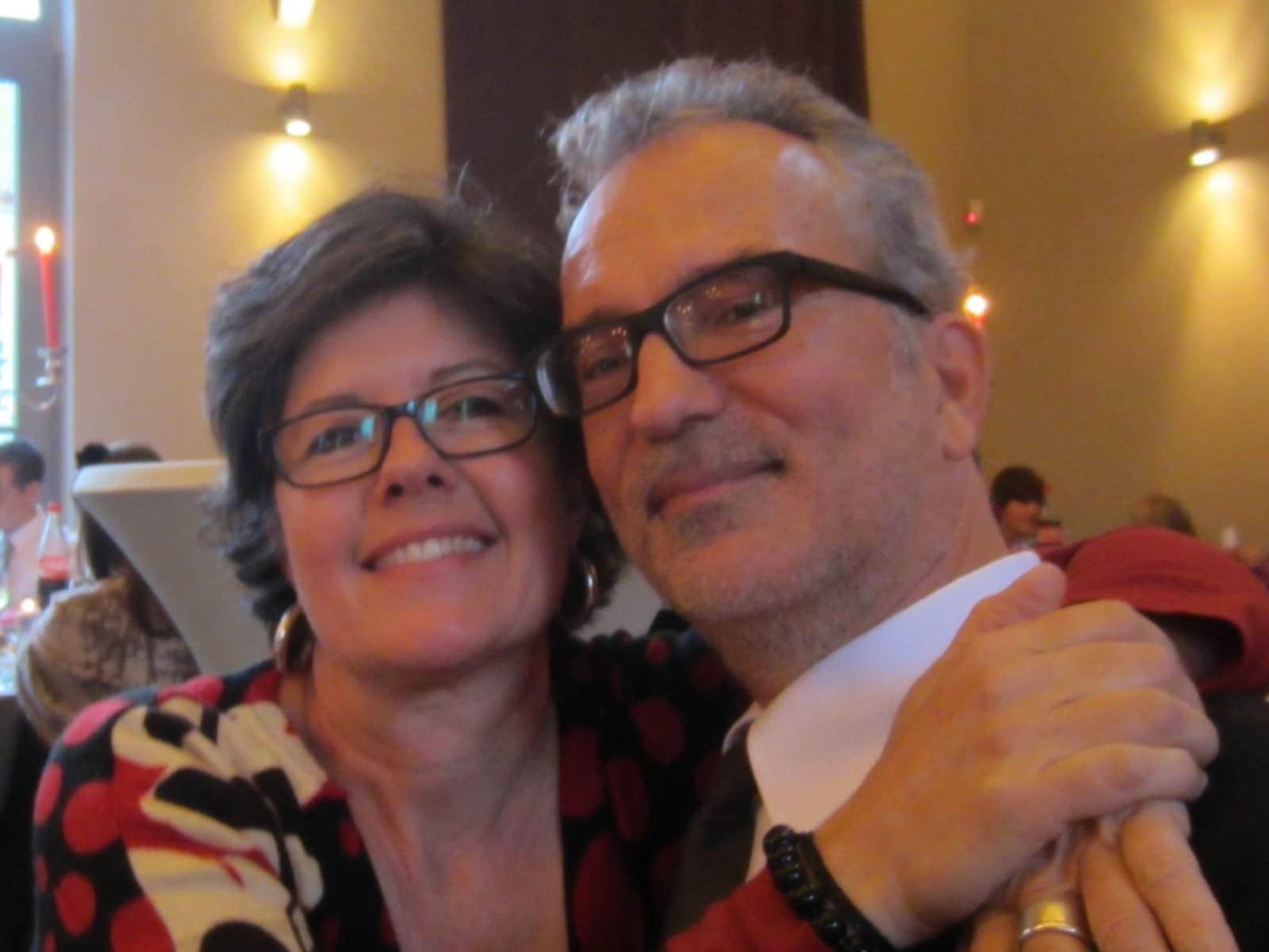 Natalie & Markus from Riehen, Switzerland