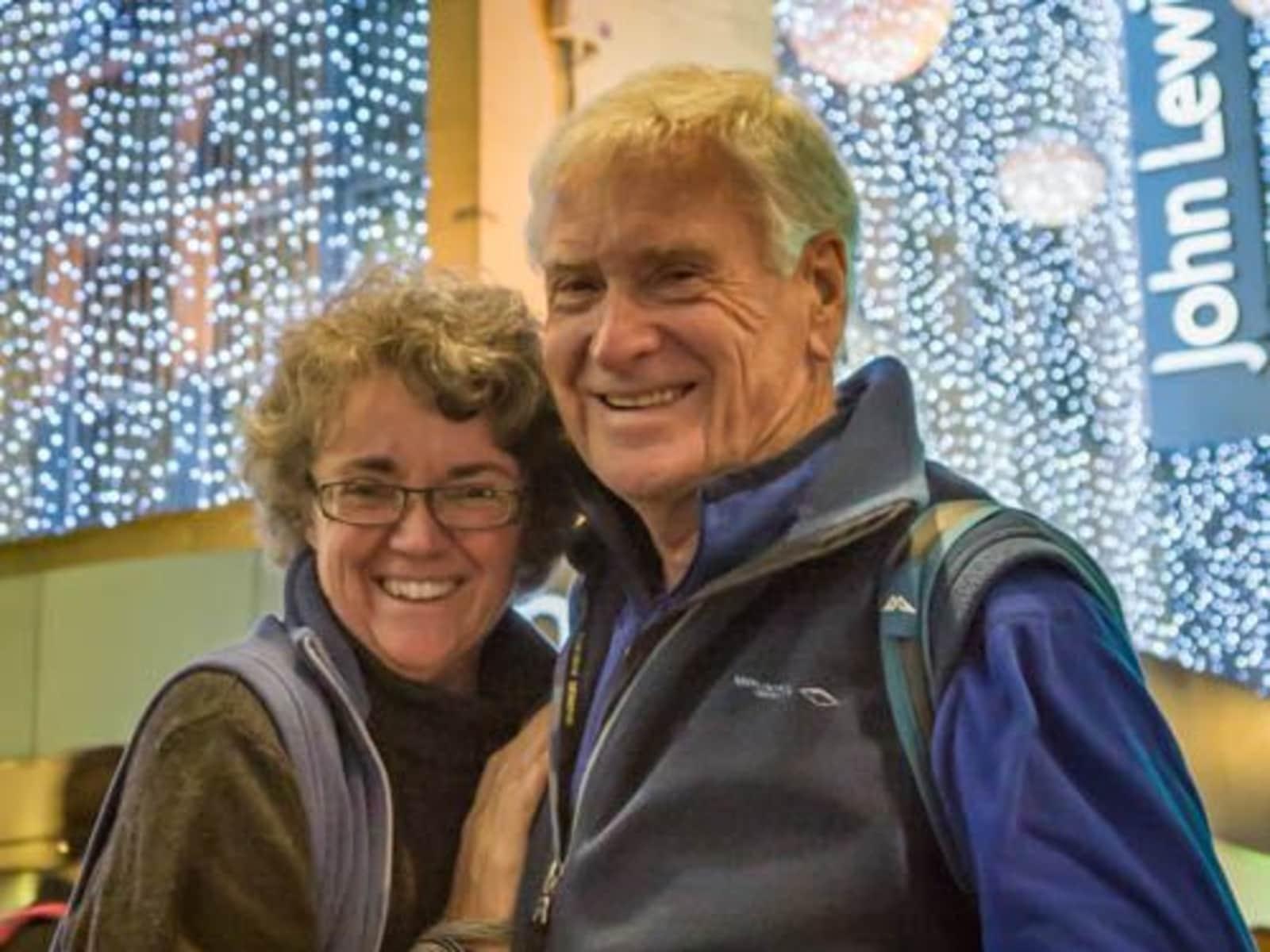 Rosemary & John from Melbourne, Victoria, Australia