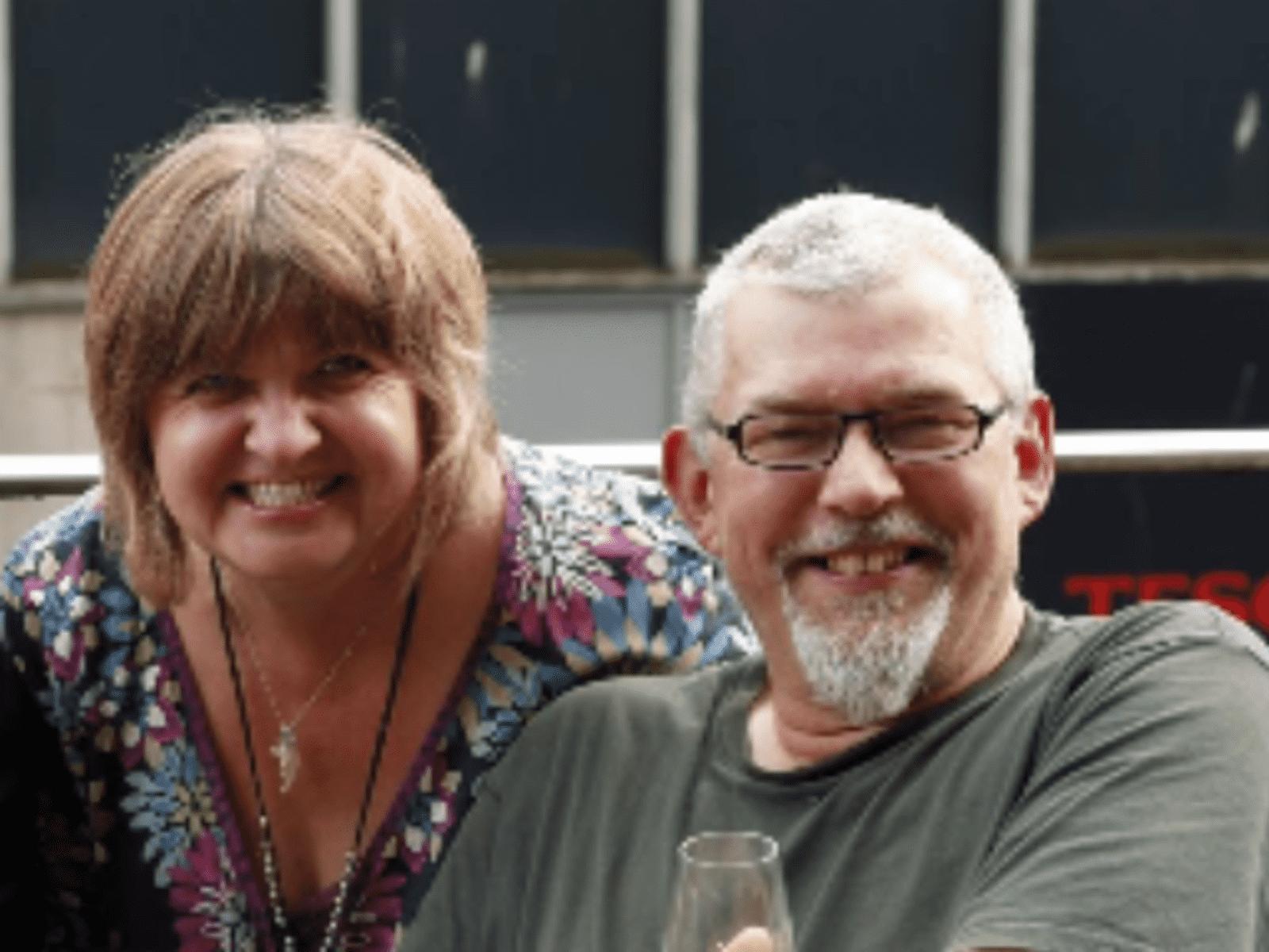 Joanne & Simon from Ayr, United Kingdom