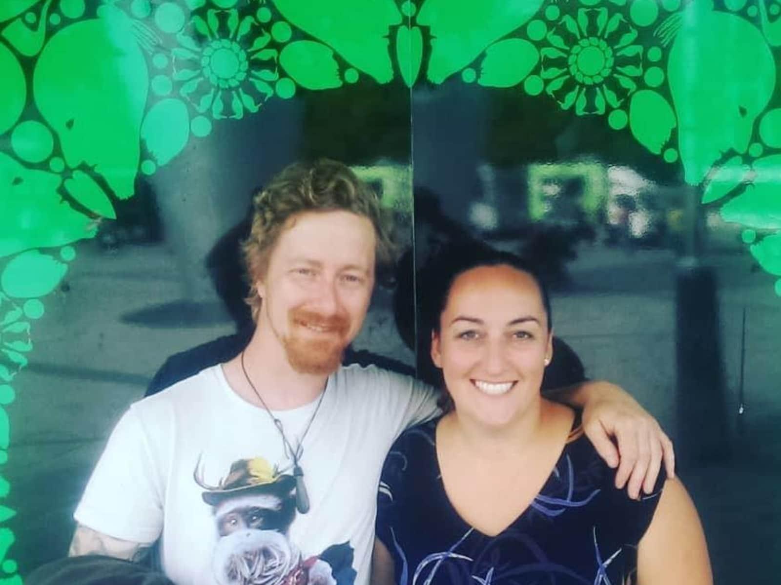 Shisca & Joe from Wellington, New Zealand