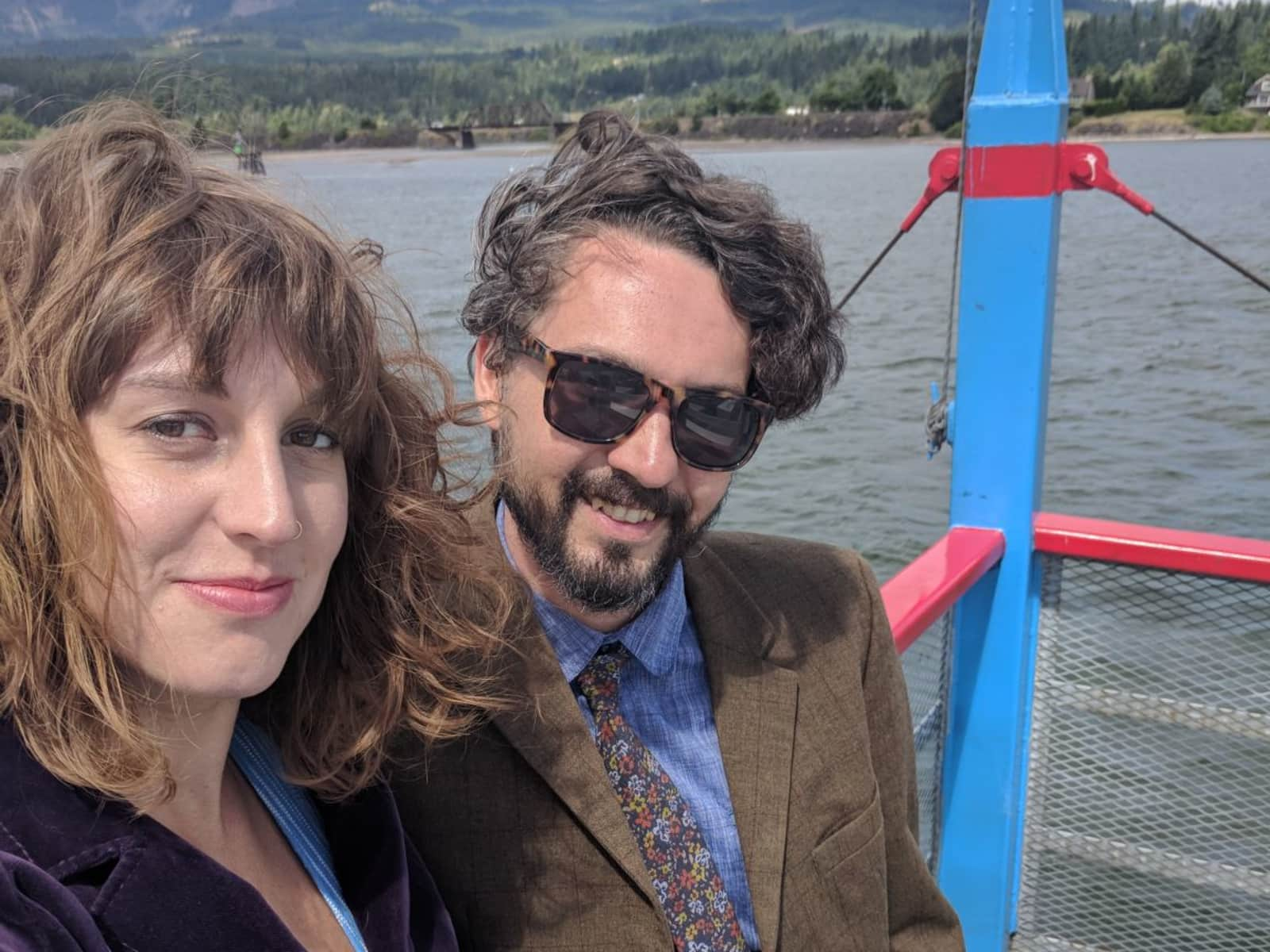 Frank & Danielle from Portland, Oregon, United States