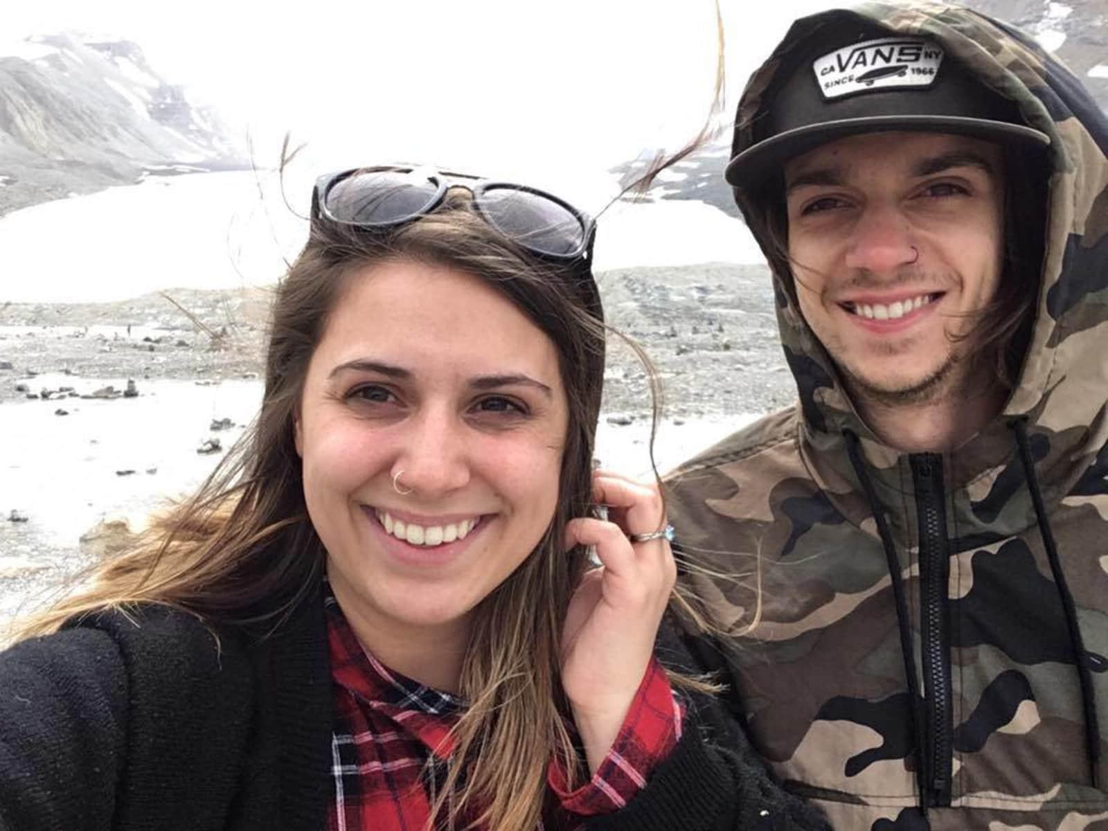 Alexe & Jérémy from Banff, Alberta, Canada