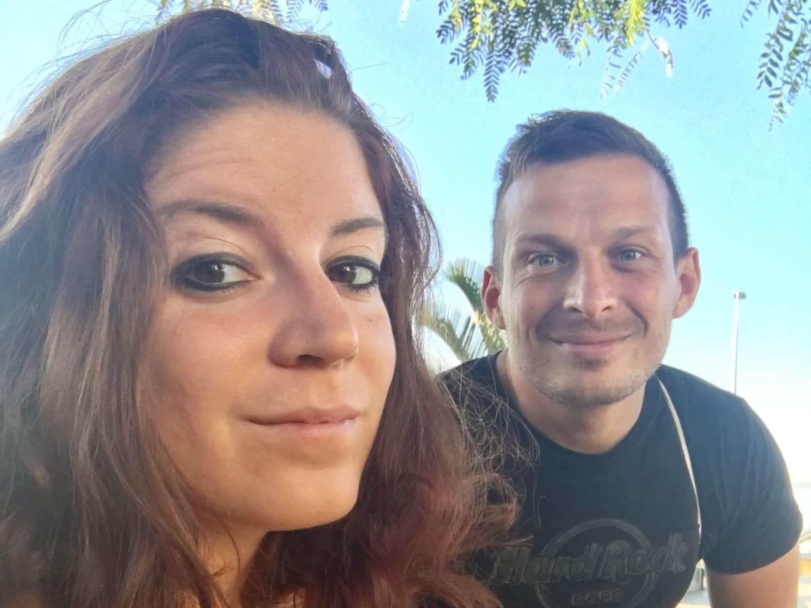 Francesca & Anders mørkeberg from Odense, Denmark