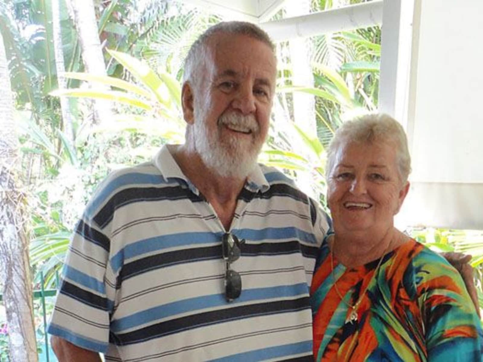 Patricia & Robert from Brisbane, Queensland, Australia