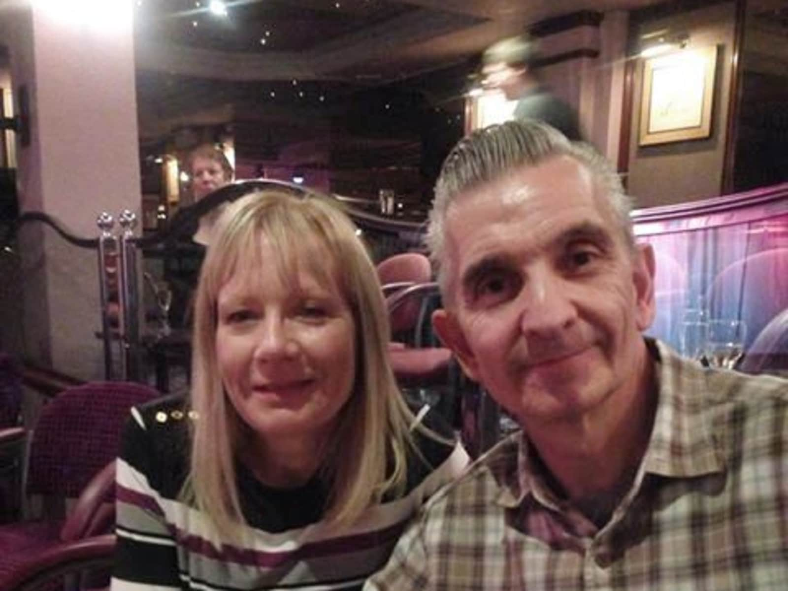Elaine & Dave from Canvey Island, United Kingdom