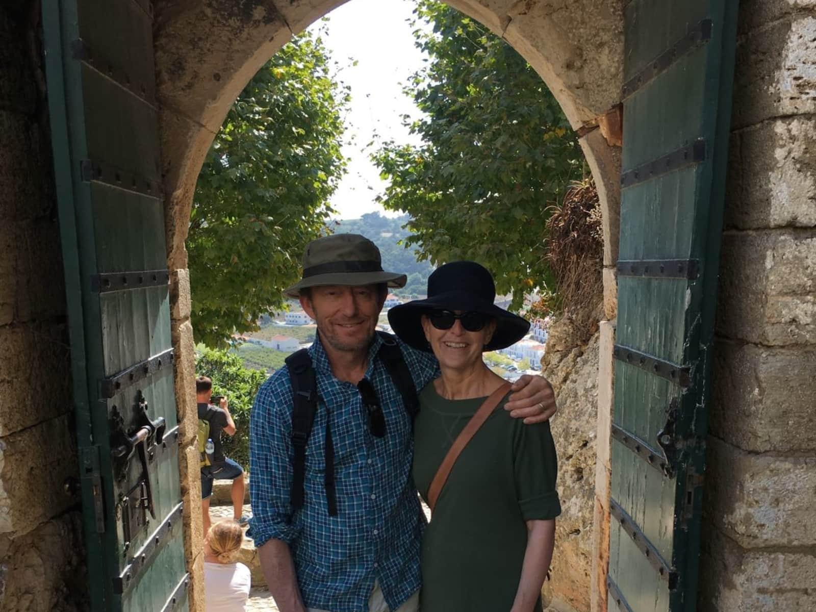 Helen & Michael from South Fremantle, Western Australia, Australia