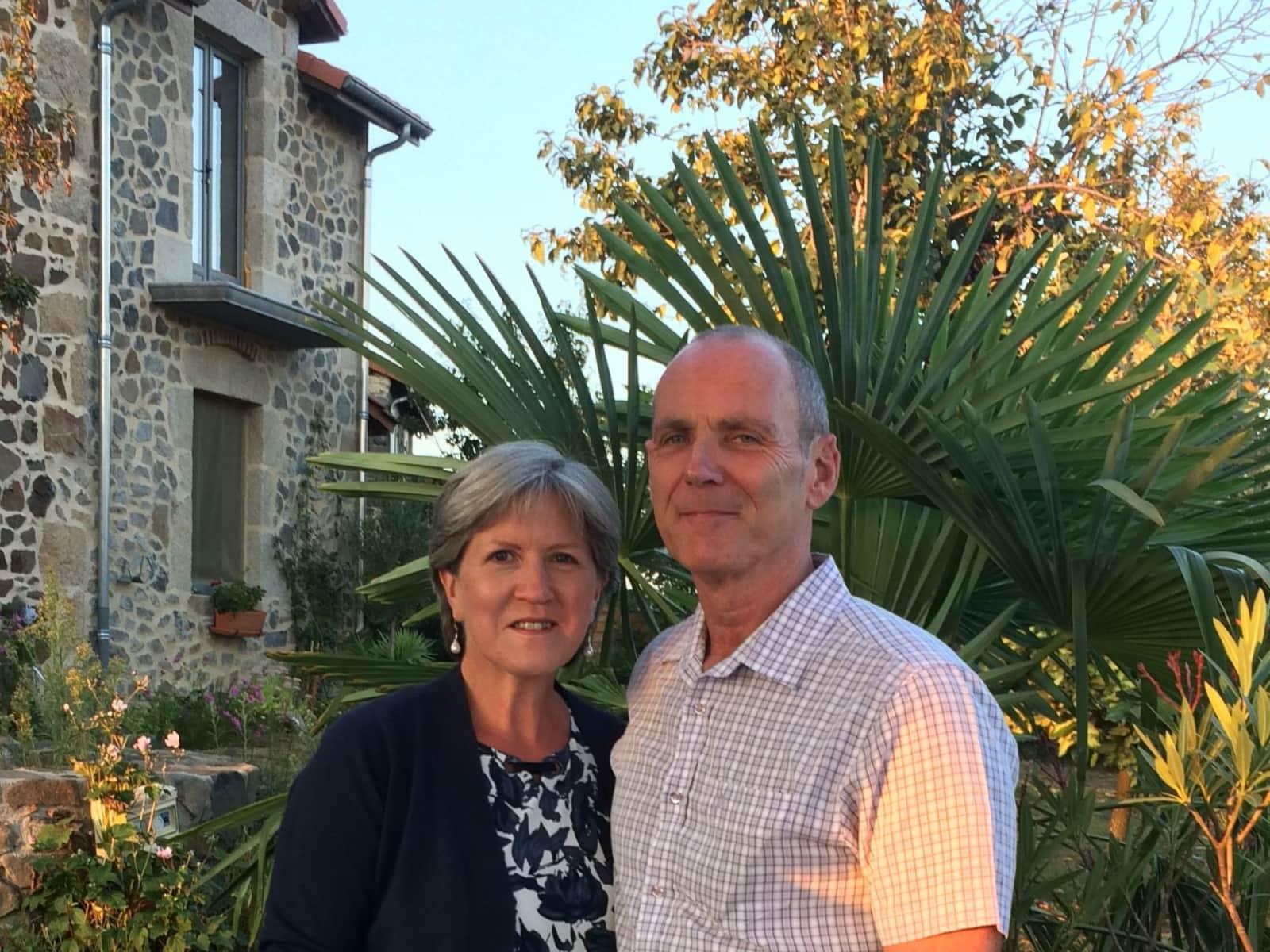 Shirley & Dirk from Échandelys, France