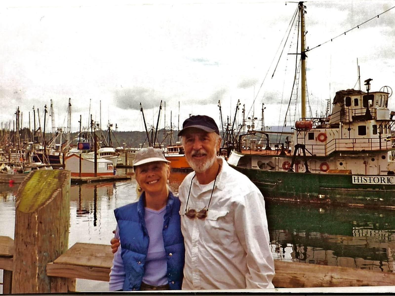 Geraldine (geri) & Richard from Ukiah, California, United States