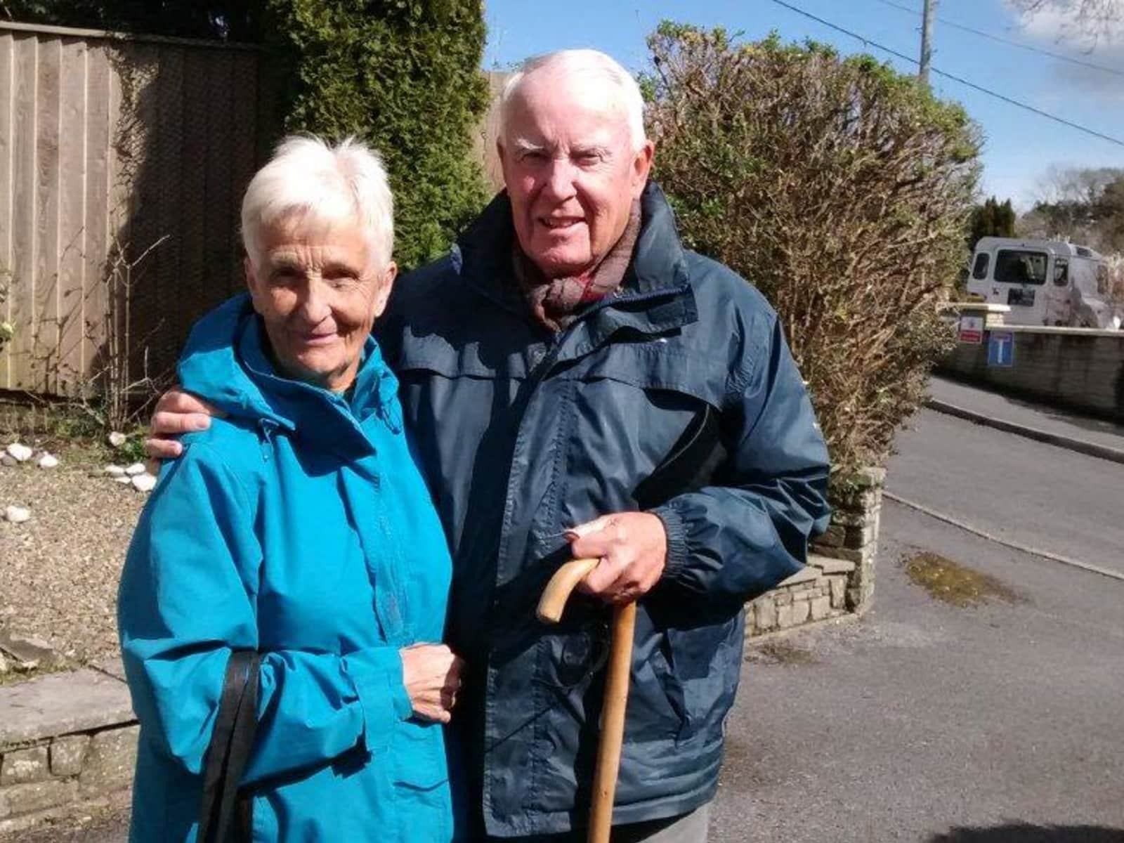 John & Juanita from Pembroke, United Kingdom