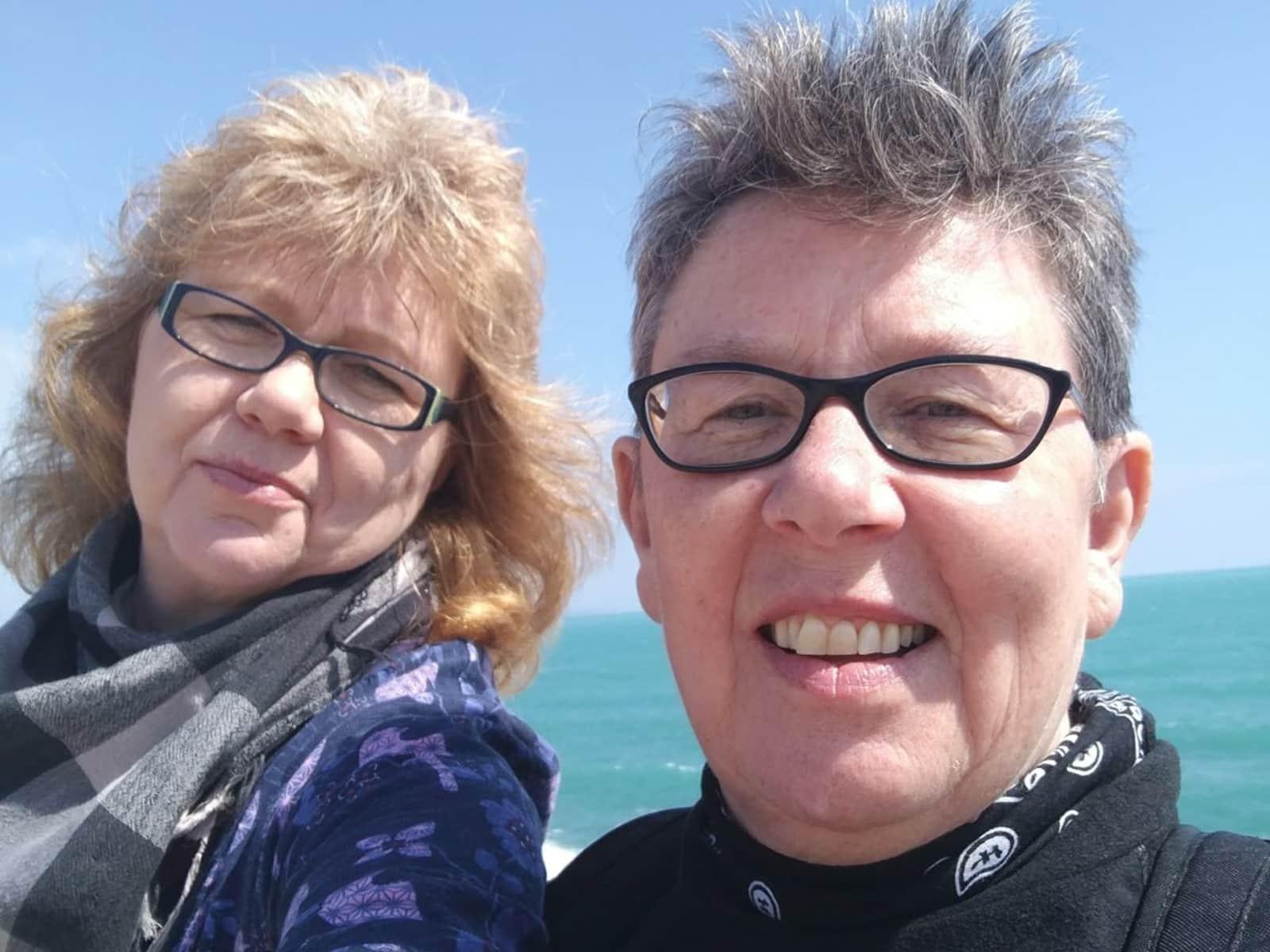 Monika & Helen from Alloa, United Kingdom