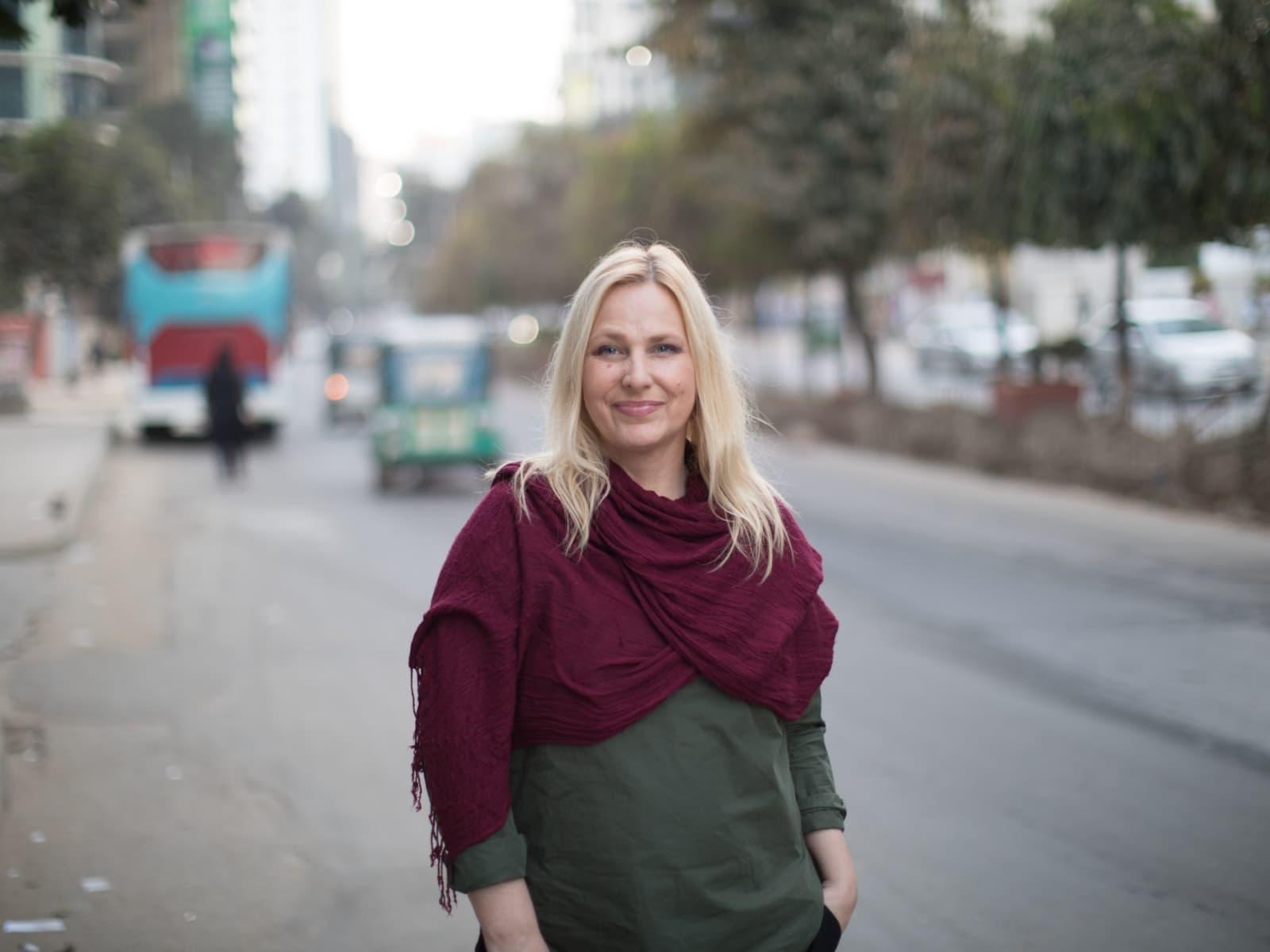 Susan from Stockholm, Sweden