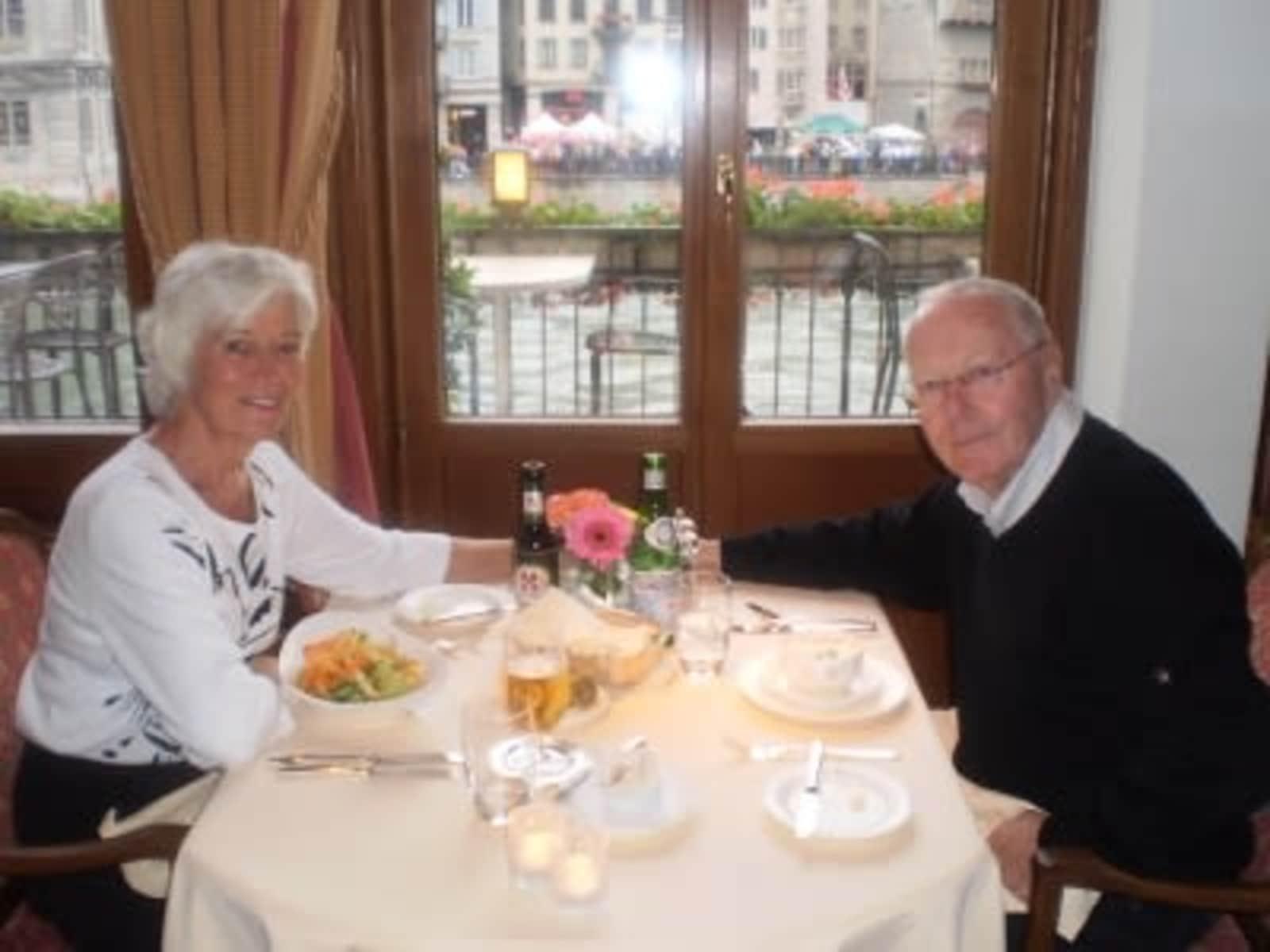 Barbara & John from Toronto, Ontario, Canada