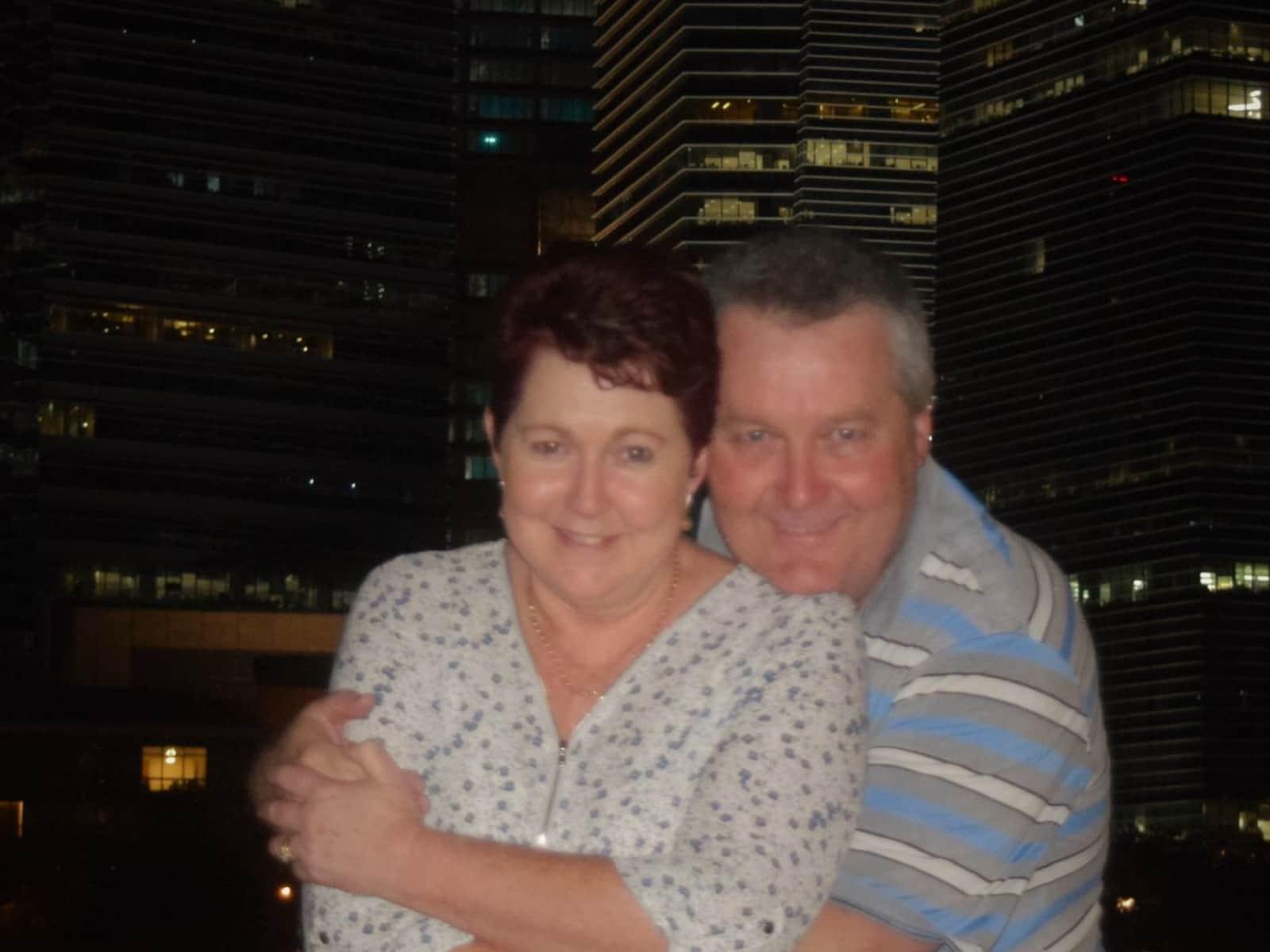 Sue & Paul from Biloela, Queensland, Australia