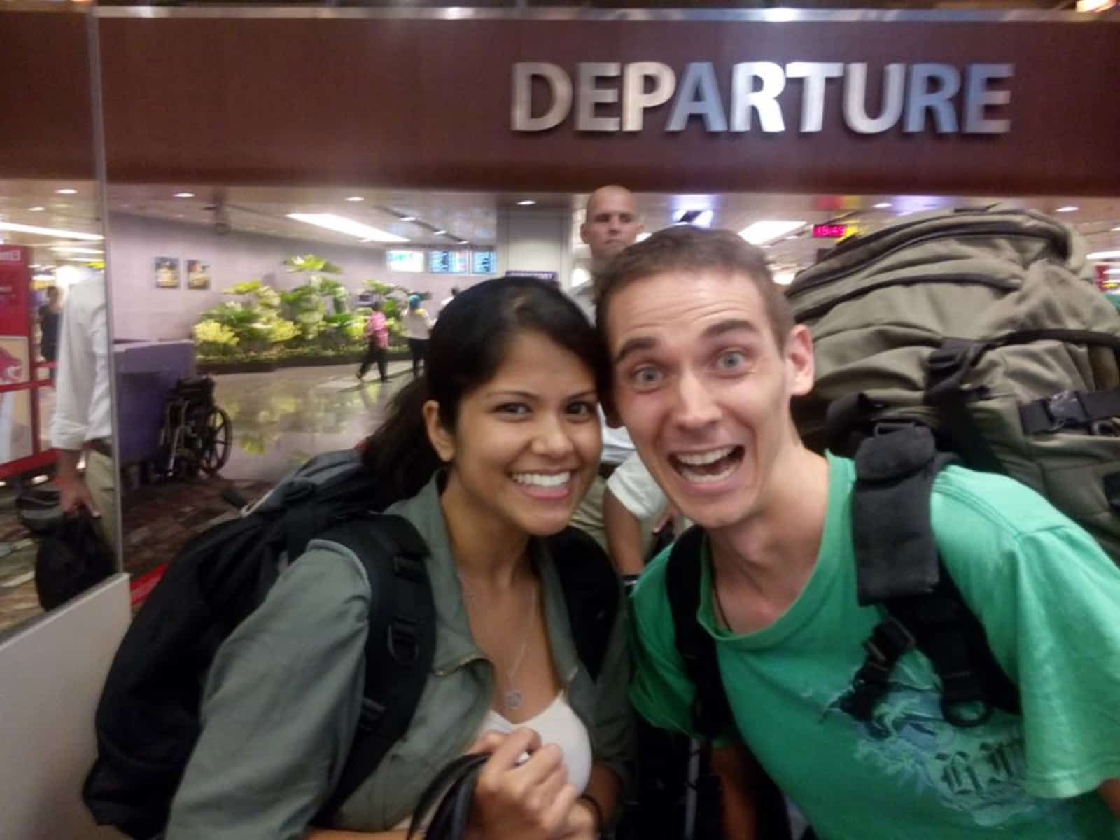 Rekha & Christopher from Singapore, Singapore