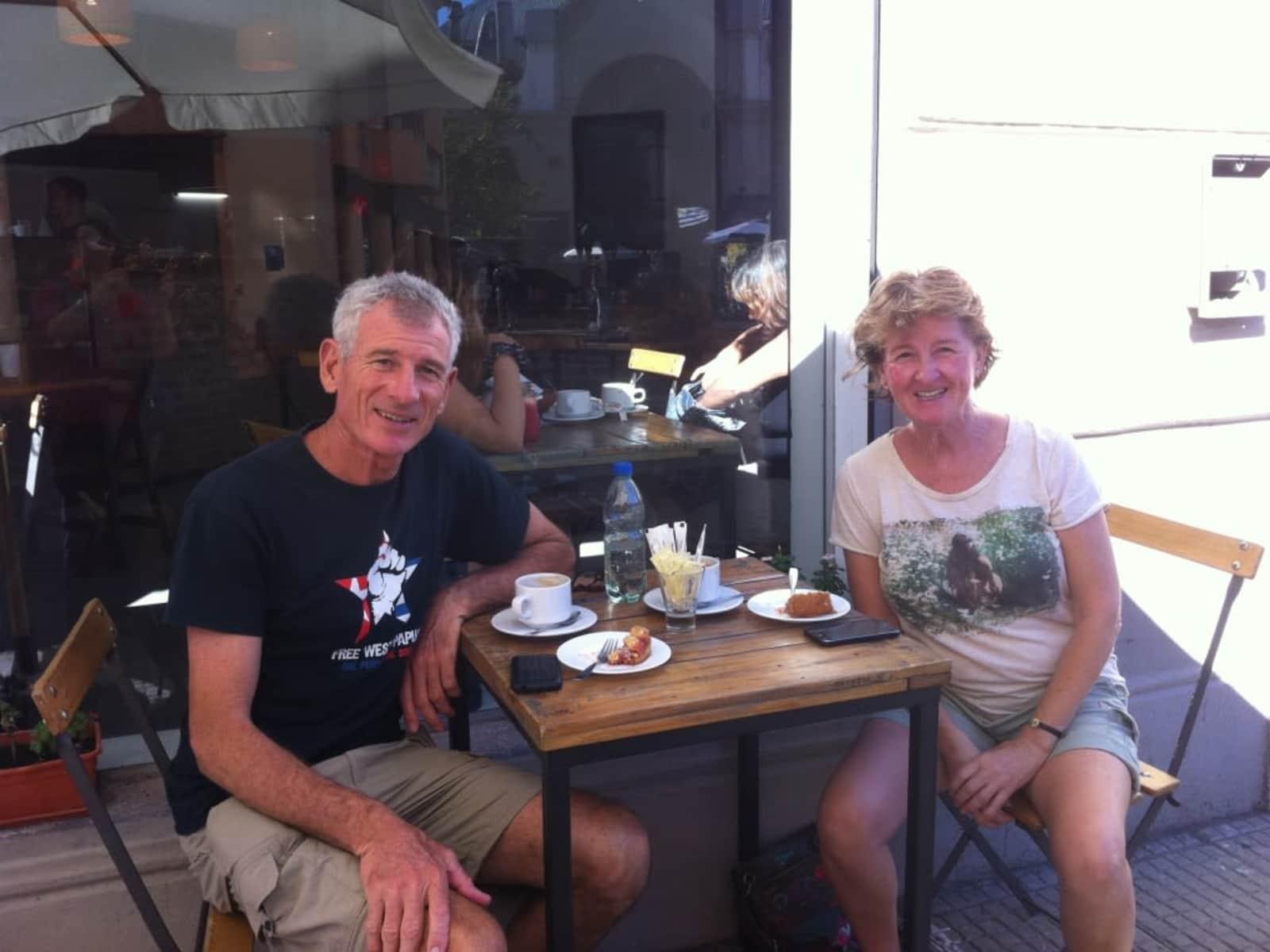 Anne & Leon from Melbourne, Victoria, Australia