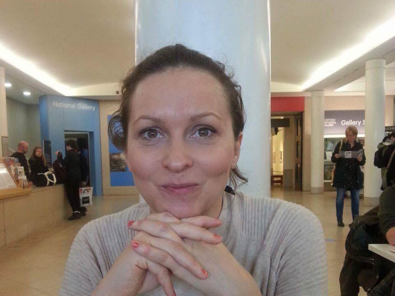 Katherine from Crieff, United Kingdom