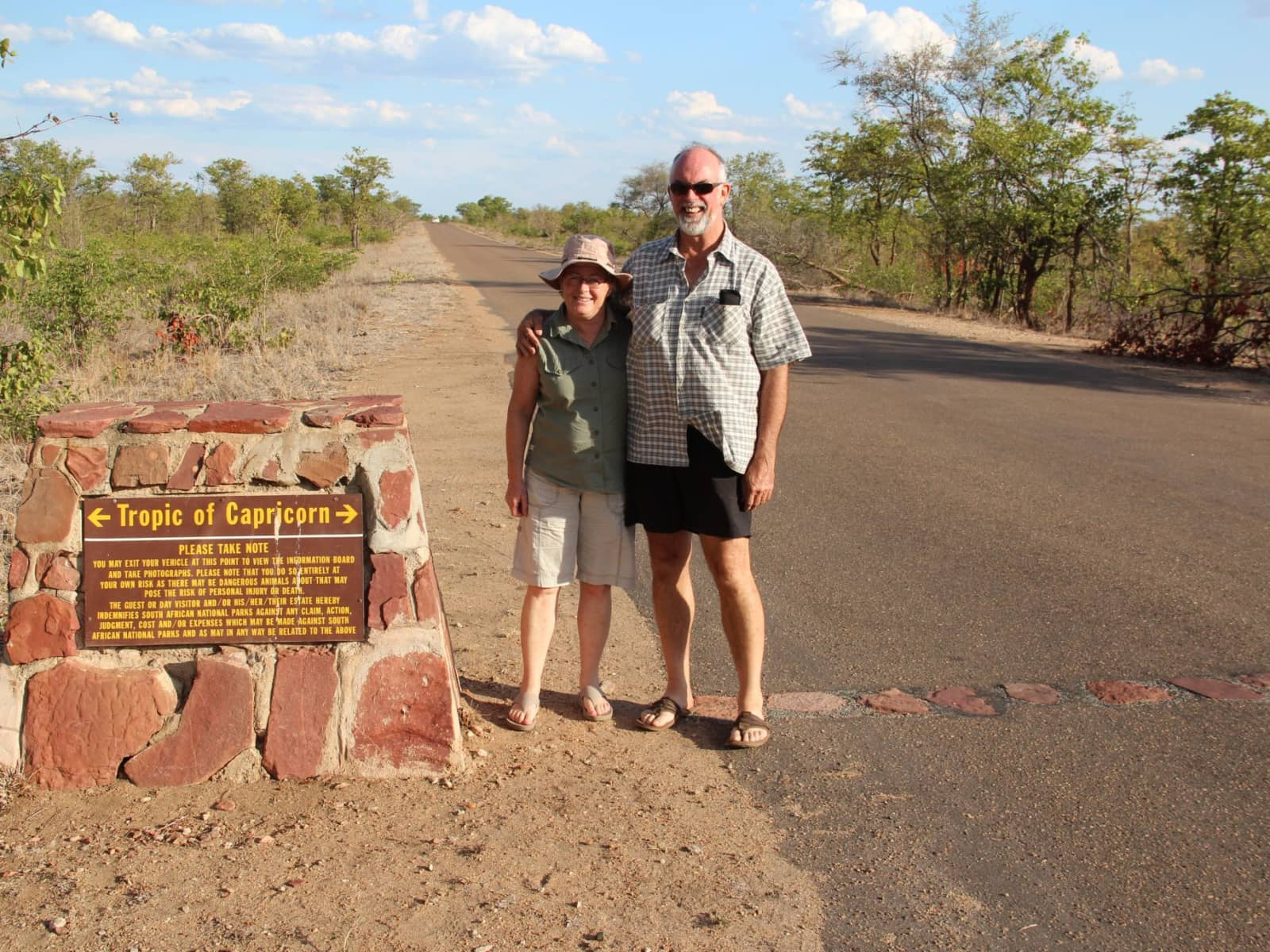 Dawn & Gavin from Eshowe, South Africa