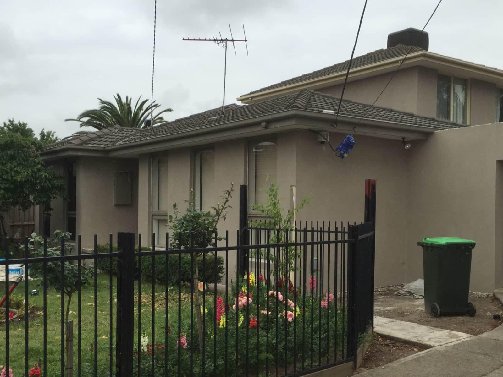 Housesitting assignment in Thomastown, Victoria, Australia