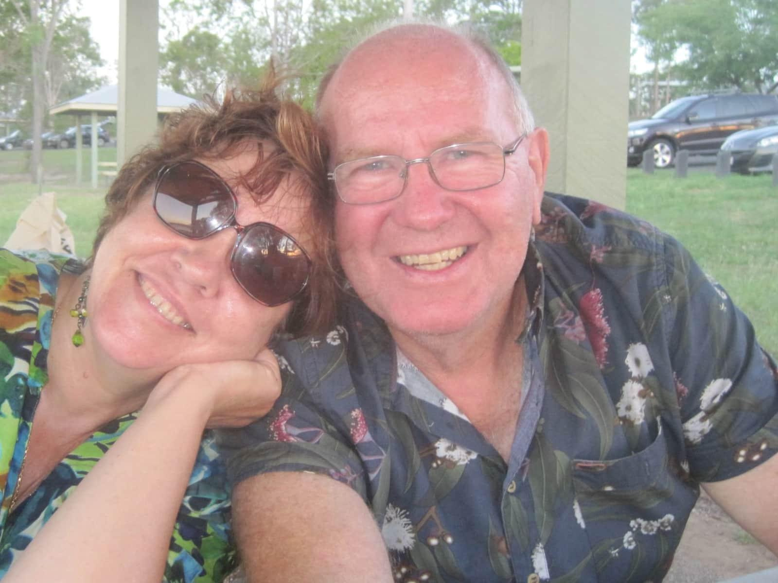 Jeannine & Howard from Brisbane, Queensland, Australia
